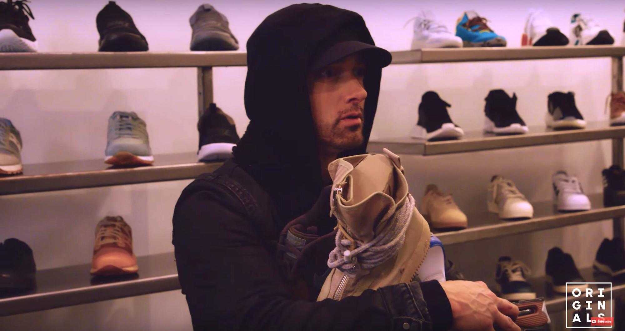 Eminem Talks His Favorite Collab and