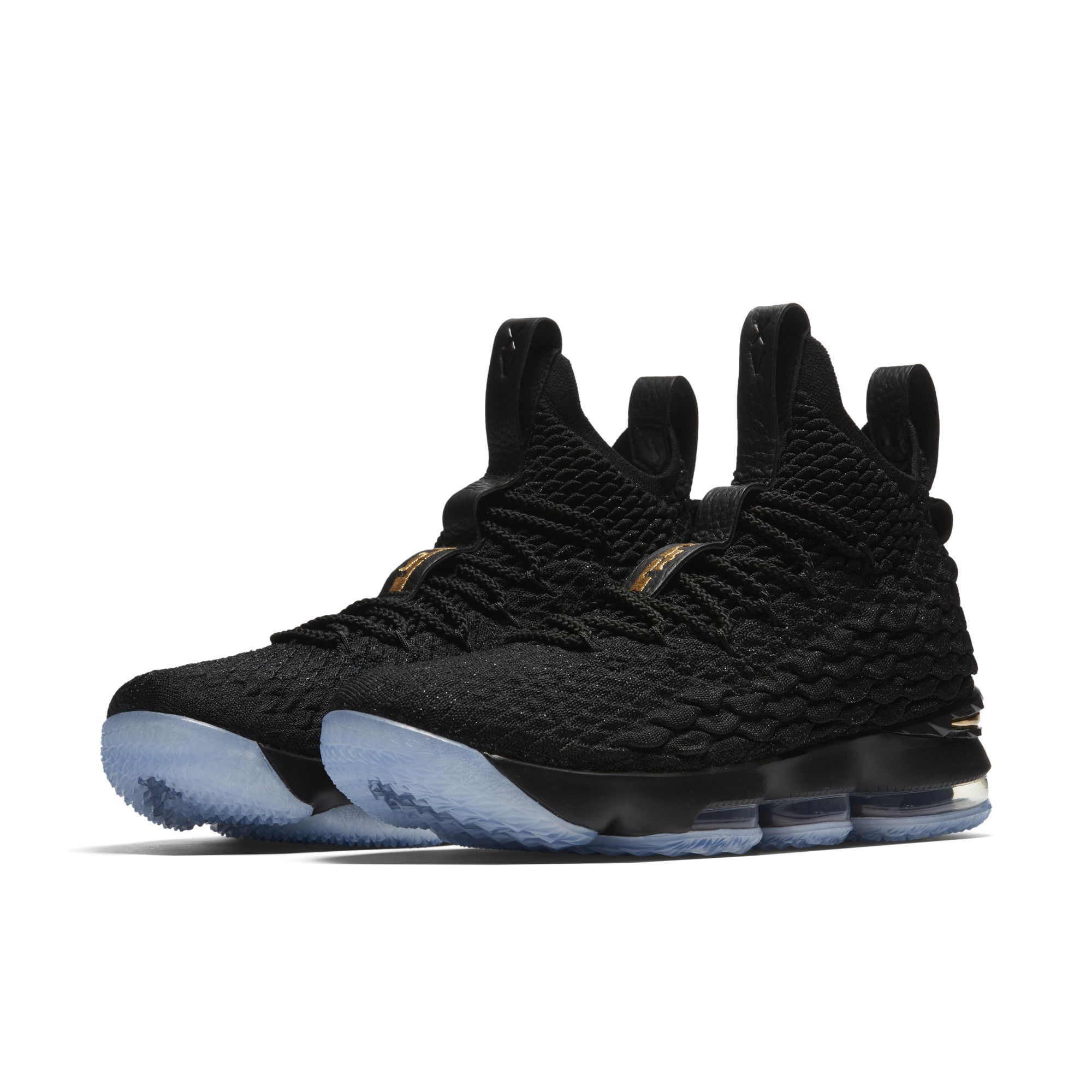 pretty nice 267f4 b3e3b The Nike LeBron 15 'Black/Gold' Releases in One Week ...