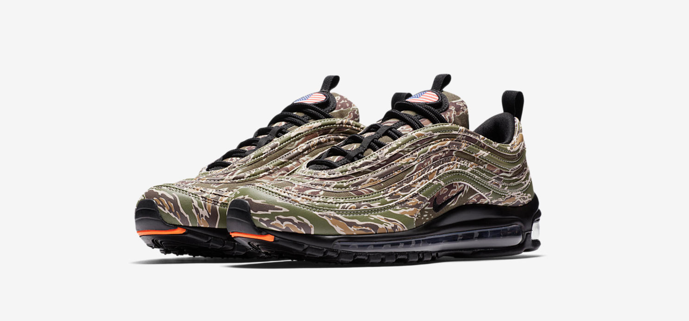 The Nike Air Max 97 Premium USA Camo Drops on the Winter