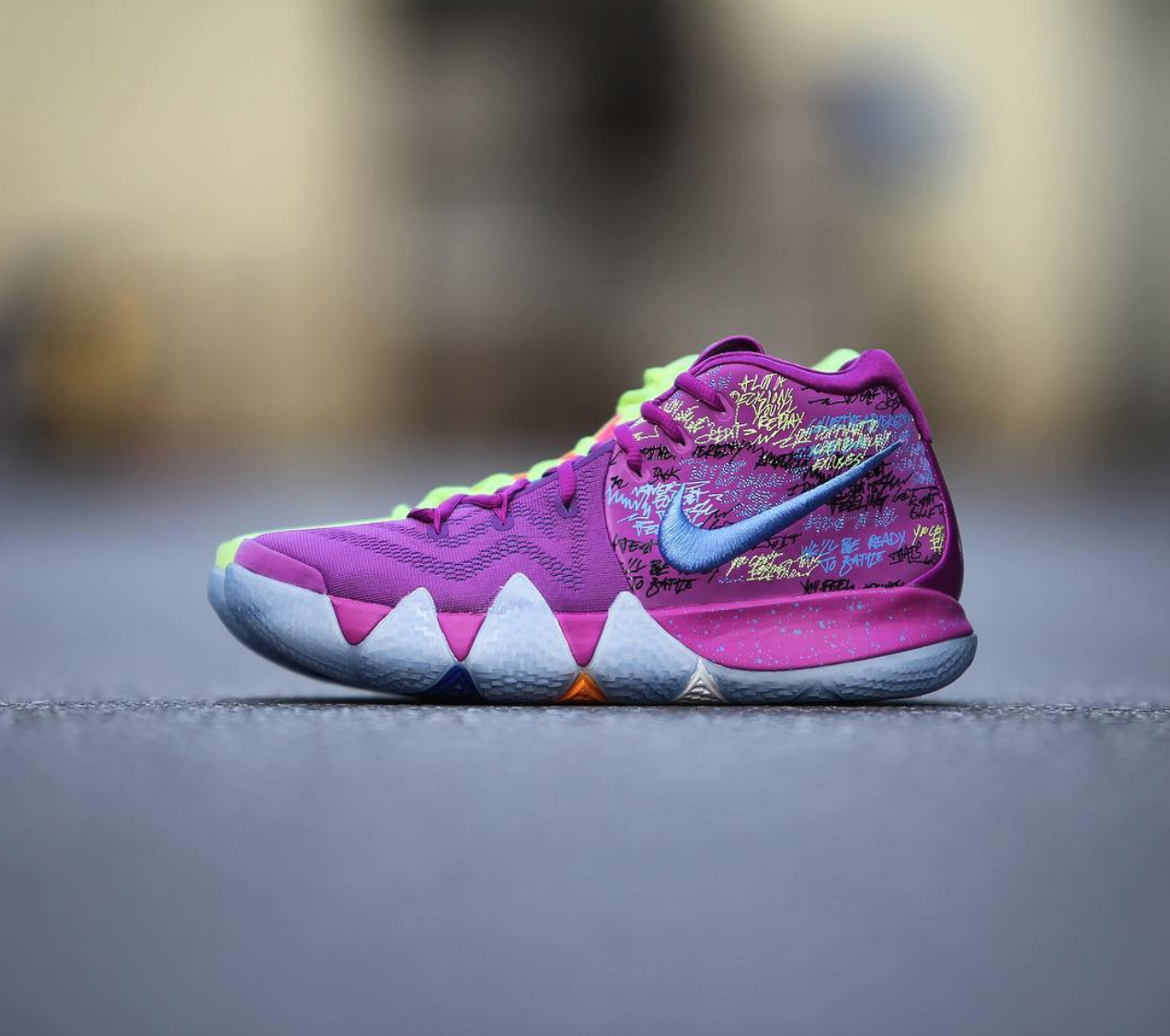 new arrival 4f20b d28a0 Here's a Detailed Look at the Nike Kyrie 4 'Confetti ...