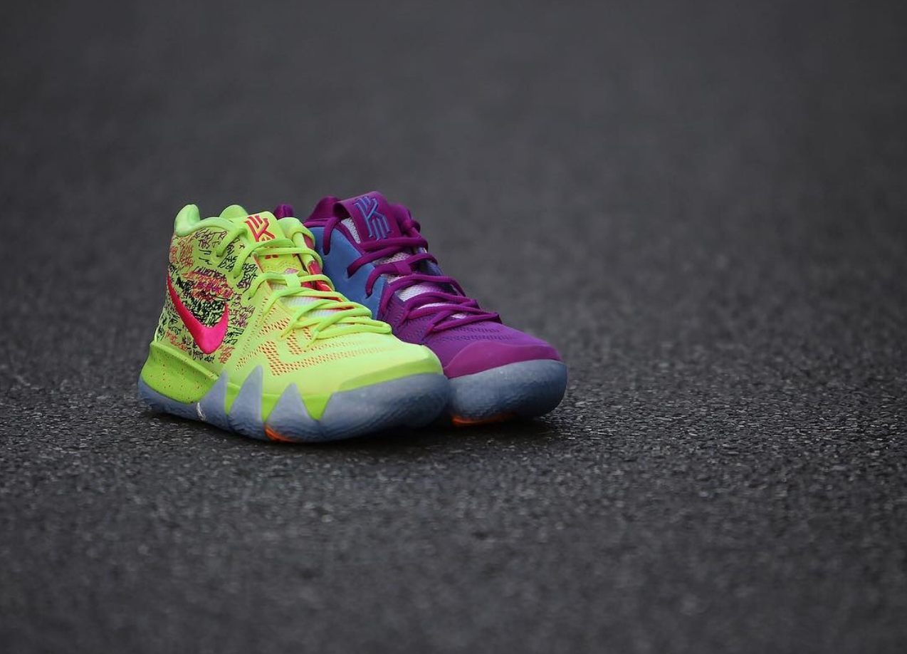 more photos c727d e7e08 The Nike Kyrie 4 'Confetti' is Releasing at Select House of ...