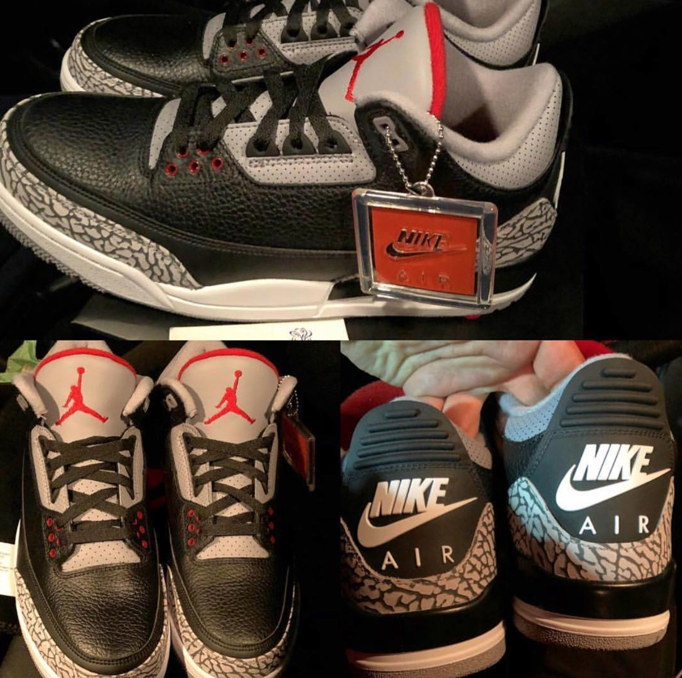 new styles e4930 882d6 The 2018 Air Jordan 3 'Black Cement' Has a Release Date ...