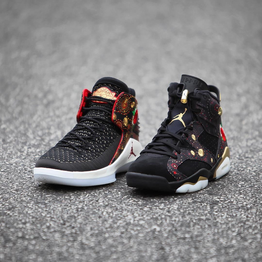 outlet store b93fb a3e8c The Air Jordan 6 and Air Jordan 32 'Chinese New Year' Drop ...