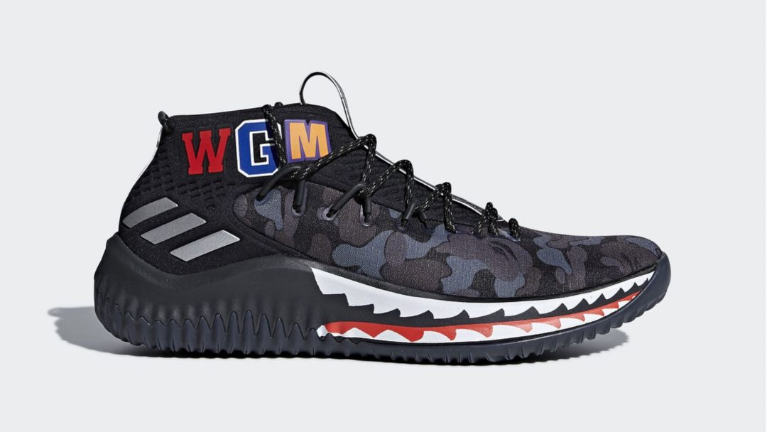 adidas dame 4 BAPE official 13