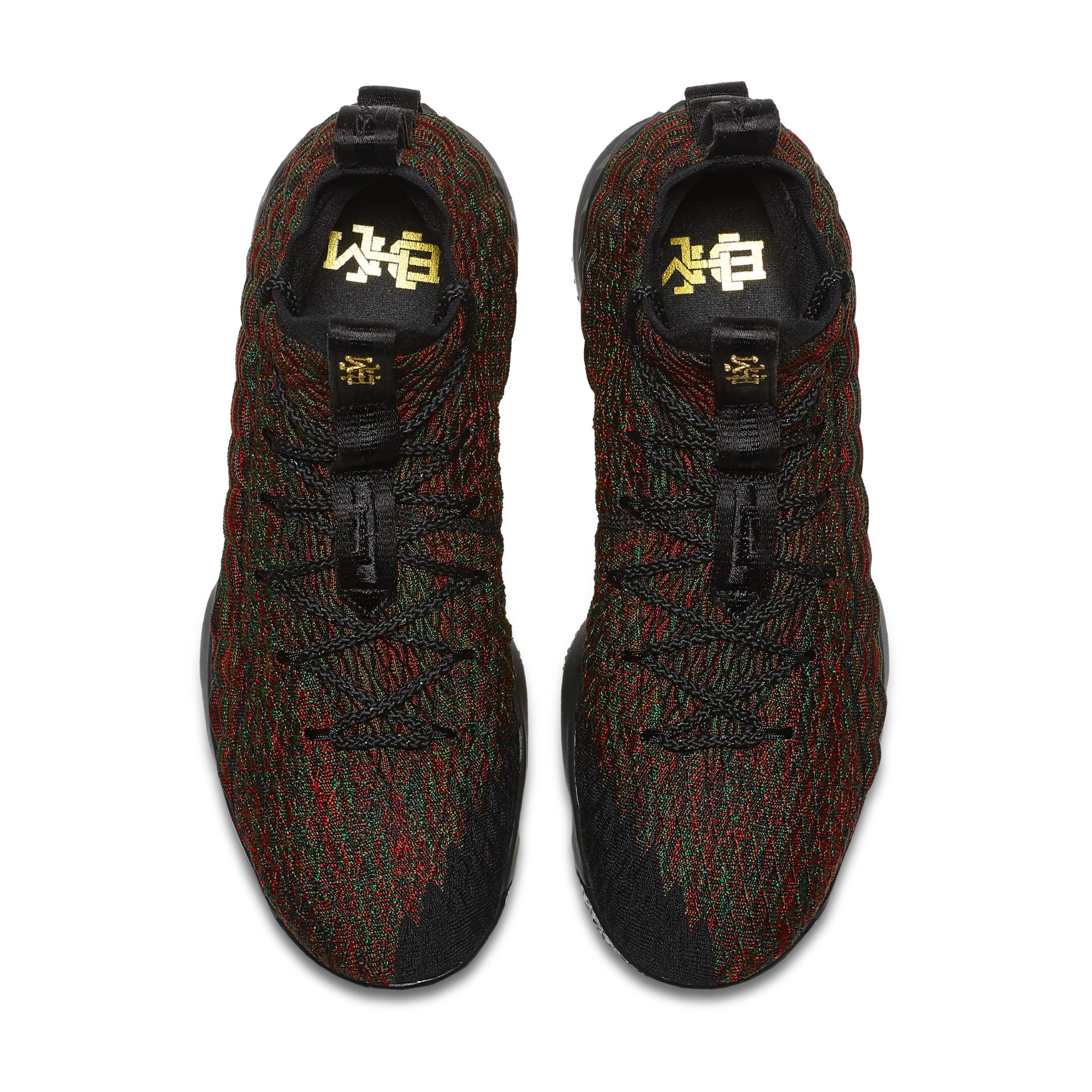best website eabeb ccb18 Check Out the Nike LeBron 15 'BHM' and KD 10 'BHM' - WearTesters