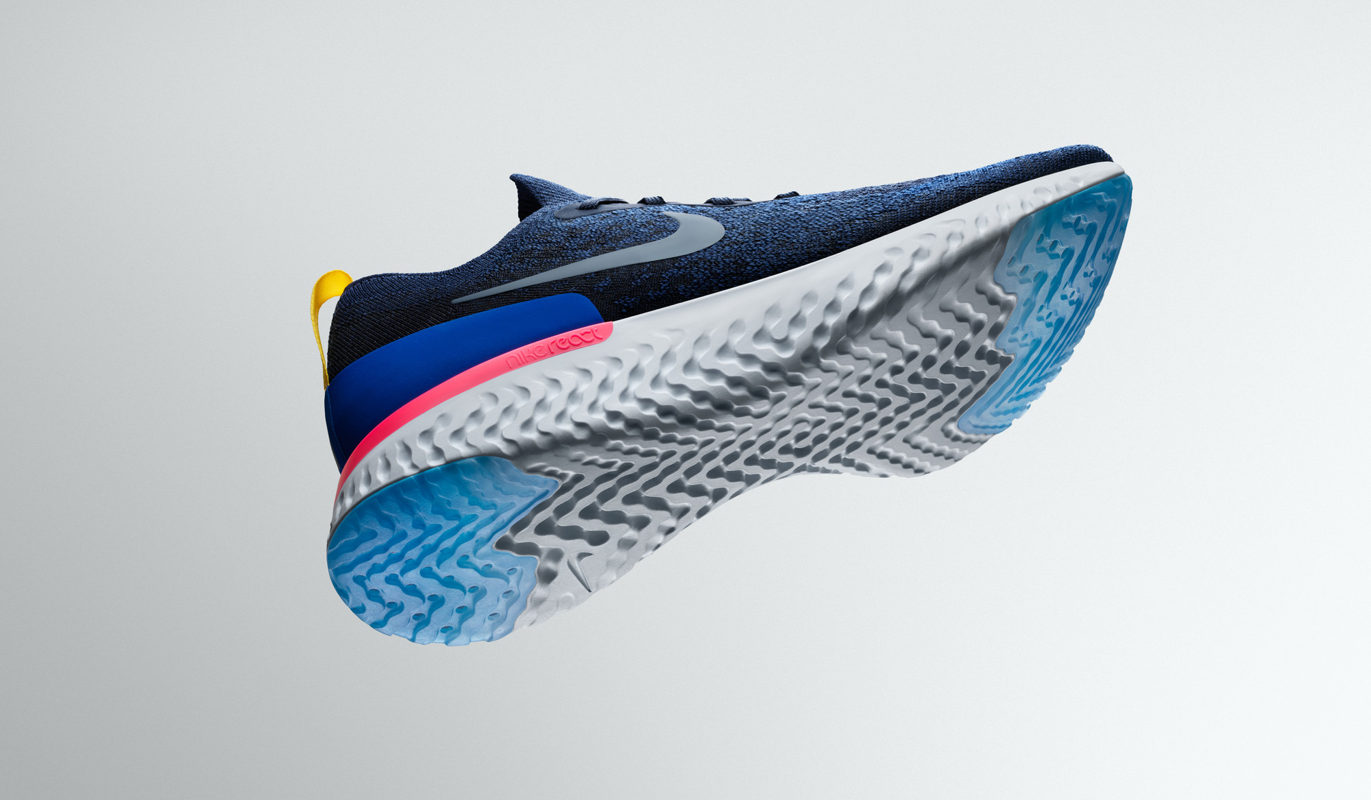 The Nike Epic React Flyknit is