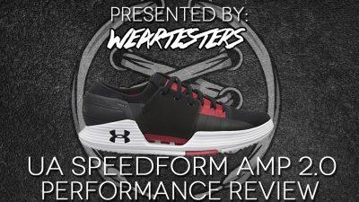 UNDER ARMOUR SPEEDFORM AMP 2.0 Performance Review