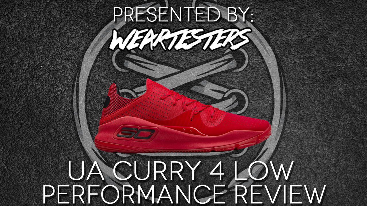 new arrival feec3 9a607 Under Armour Curry 4 Low Performance Review - WearTesters