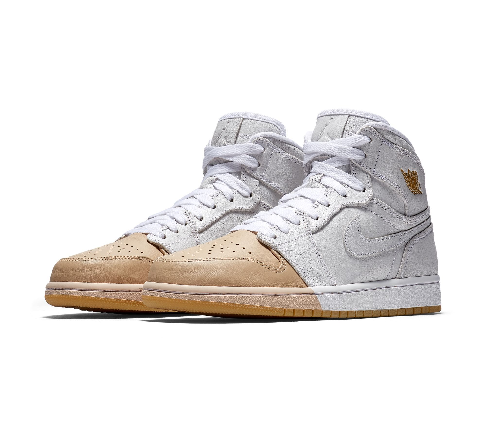 differently 94f54 bed17 A Pair of Premium Air Jordan 1 Retros for Women Drop Next ...
