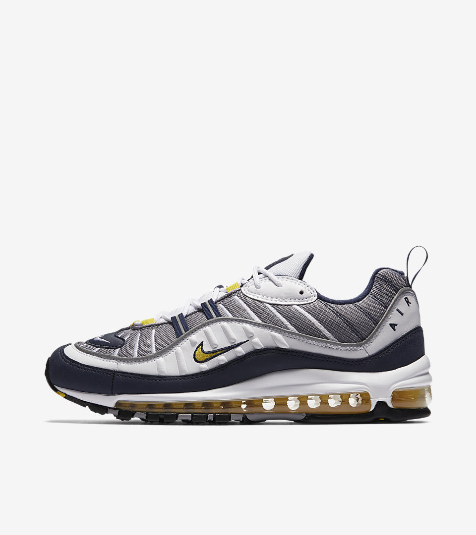 the nike air max 98 39 tour yellow 39 drops friday weartesters. Black Bedroom Furniture Sets. Home Design Ideas