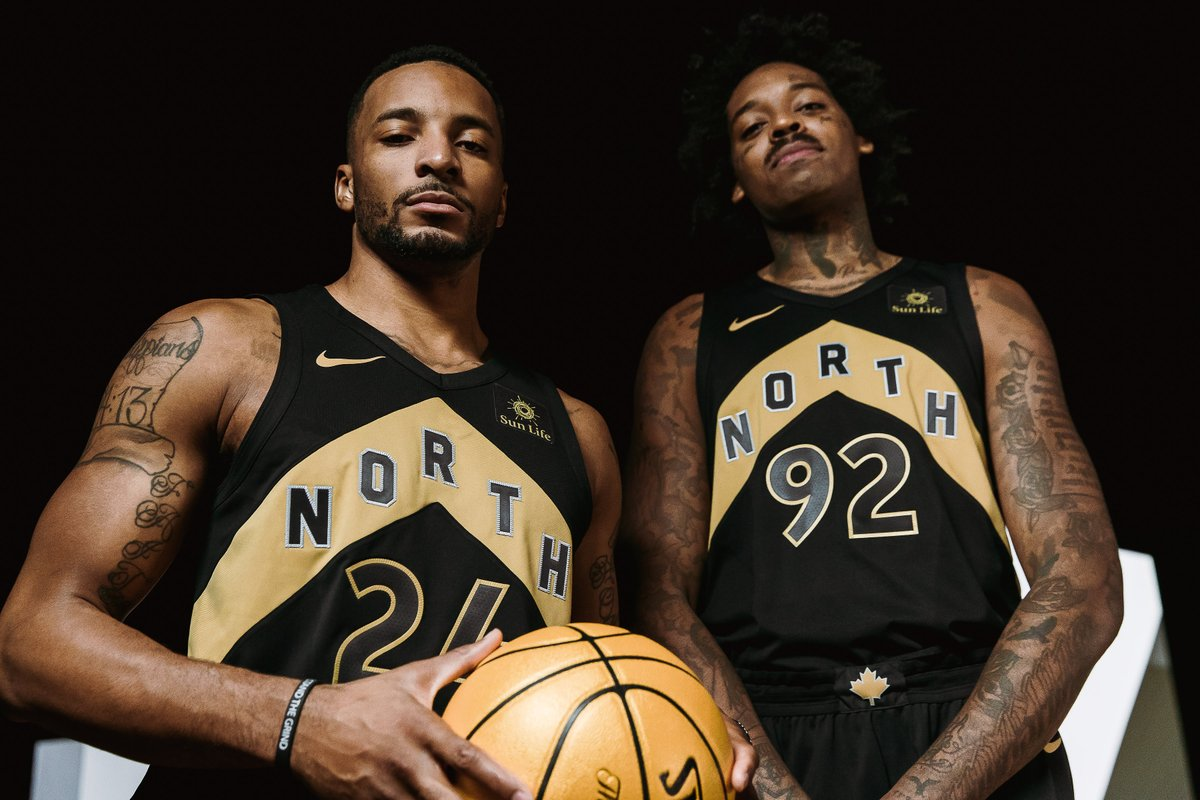 new concept 7557a 3867c Nike and the Toronto Raptors Unveil OVO Edition Jerseys ...