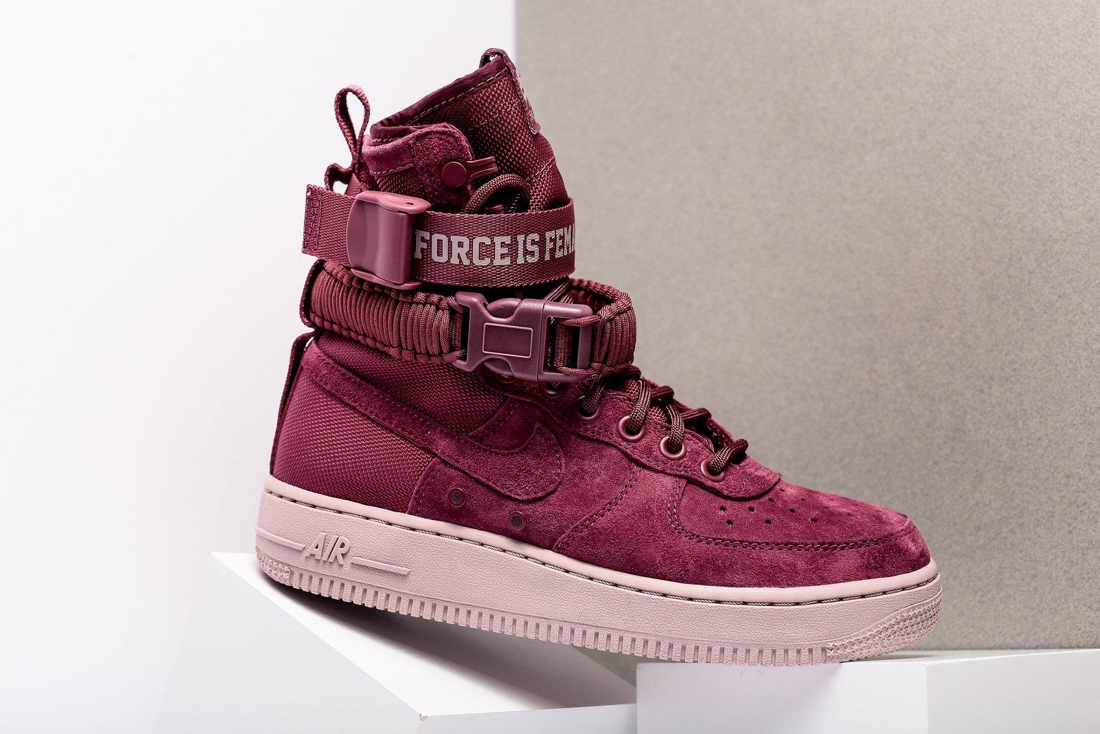 huge discount fd964 b8c87 The Nike SF-AF1 'Force is Female' is Arriving at Retailers ...