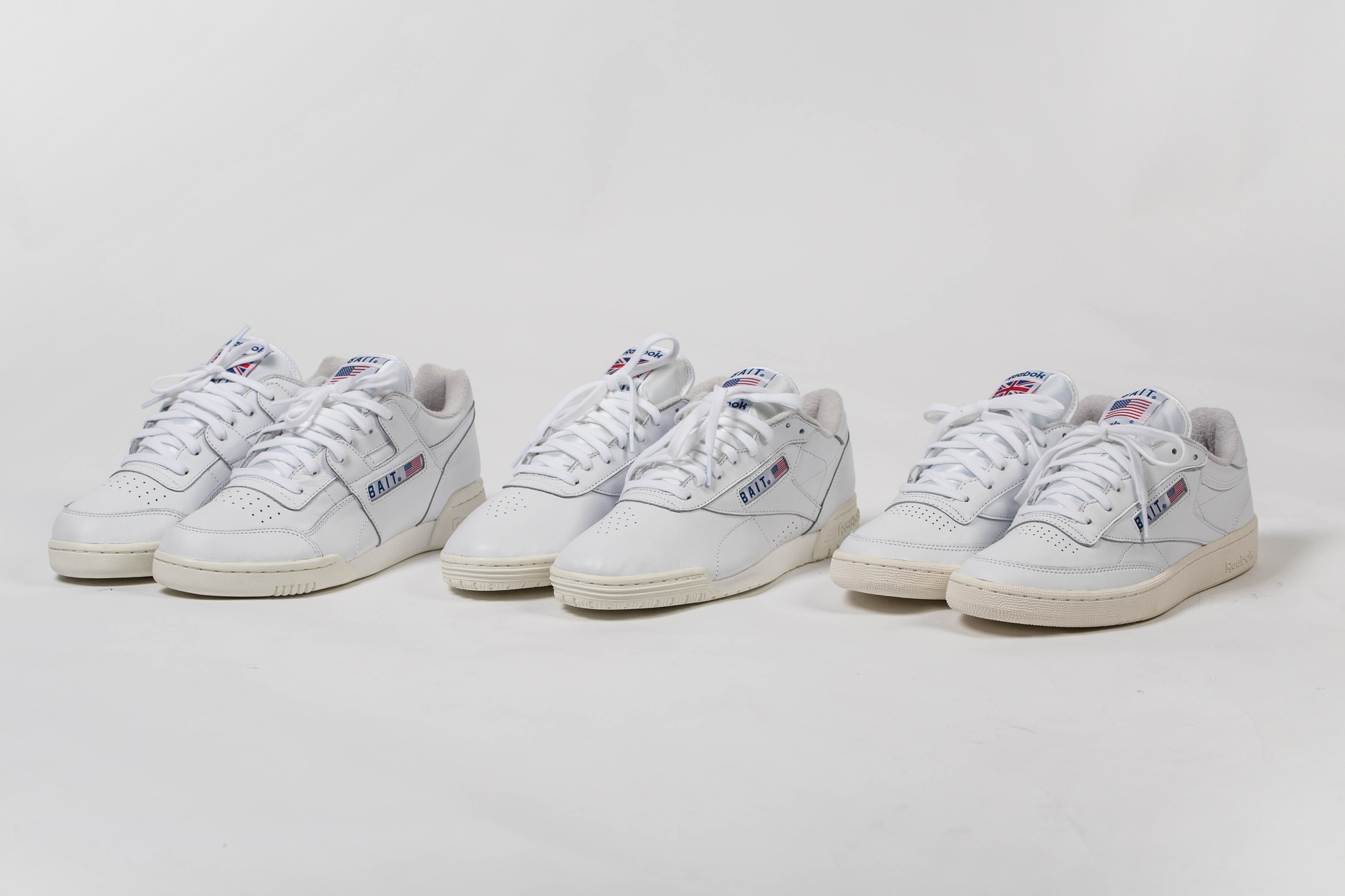 bait reebok classic west east pack