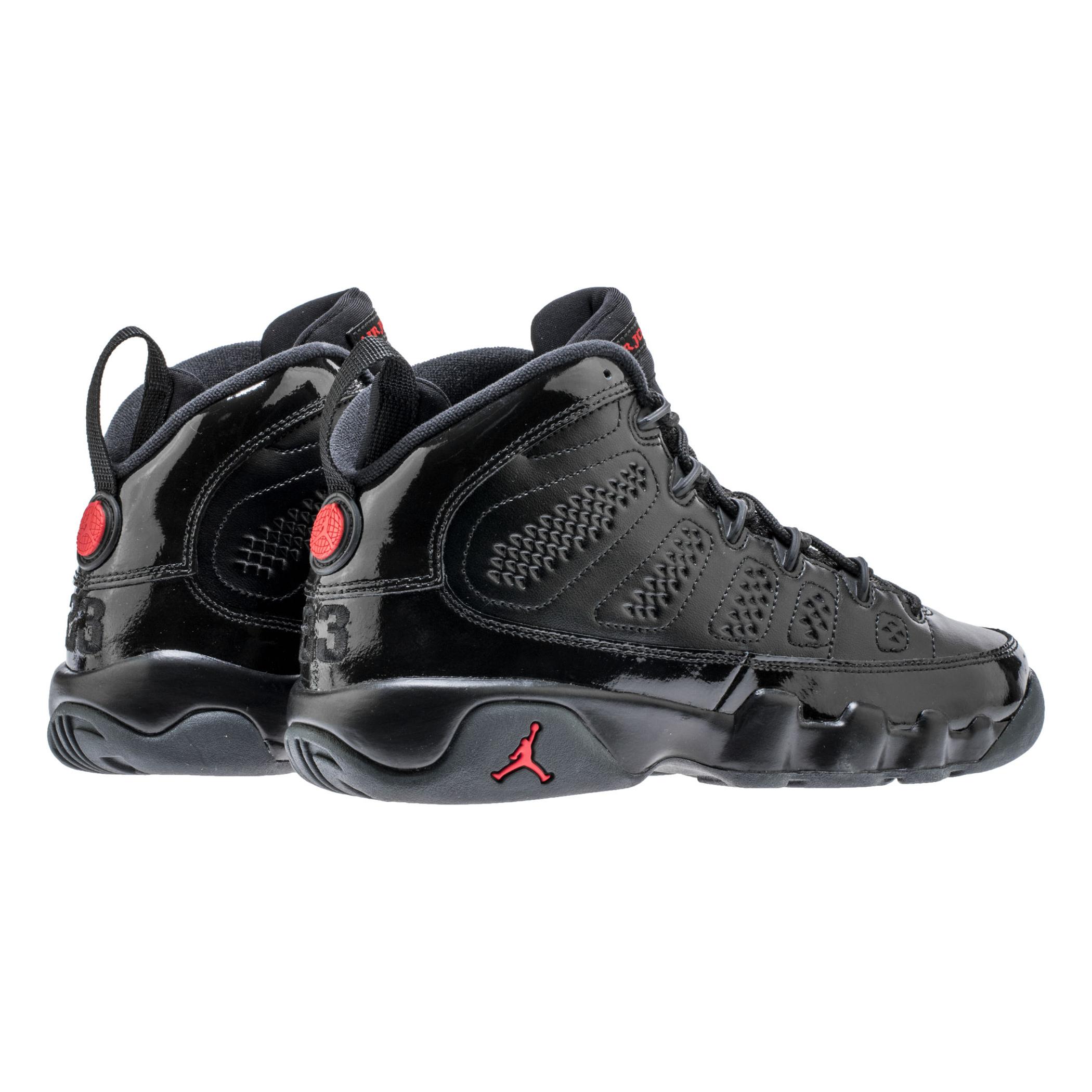 Ver la venta comercializable en venta Air Jordan Ix Bg Negro / Universitario Rojo / Antracita baratas de China excelente línea barata venta de liquidación BGD4Q