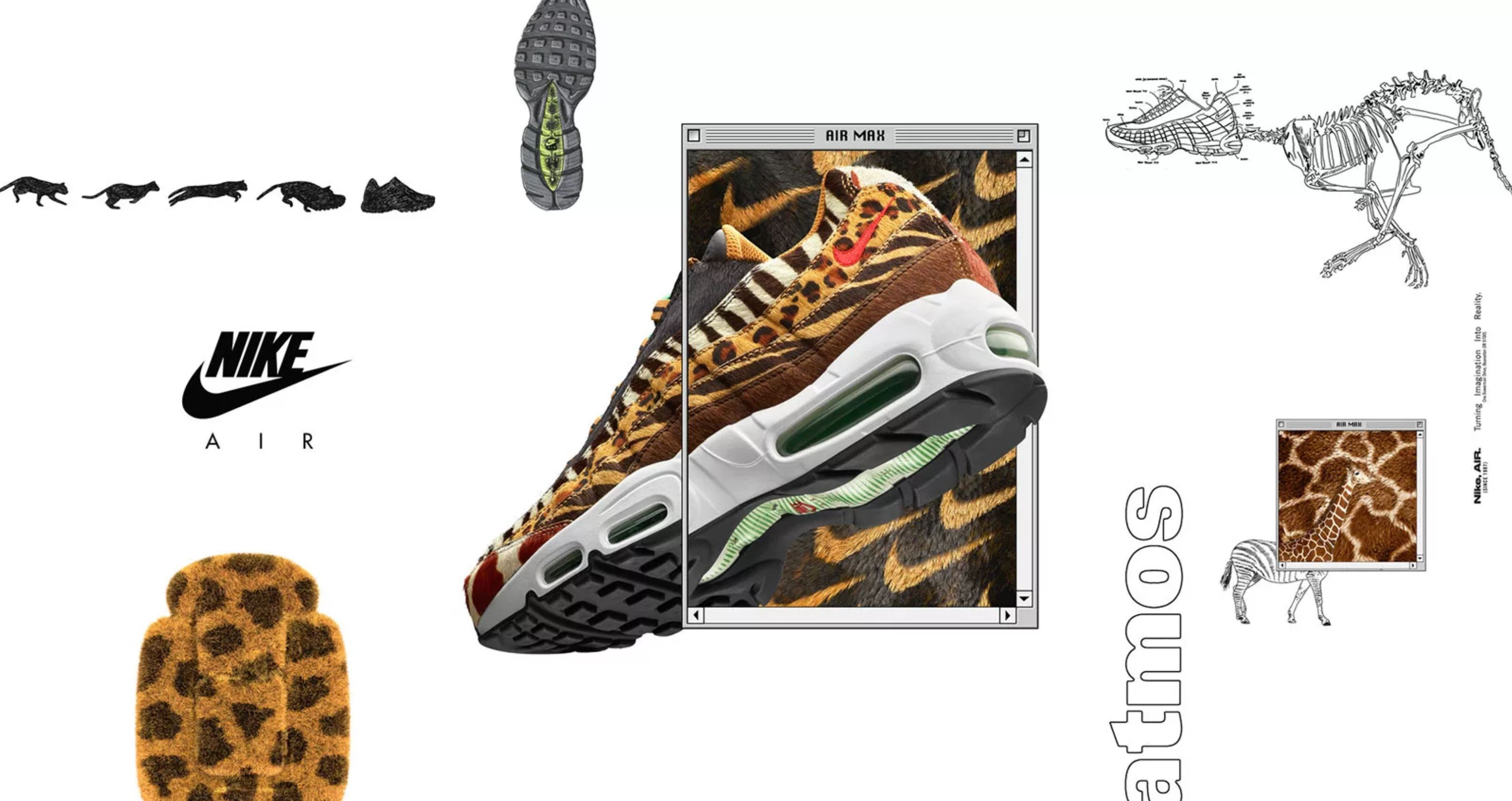 atmos and Nike are Bringing Back Animal Prints for Air Max