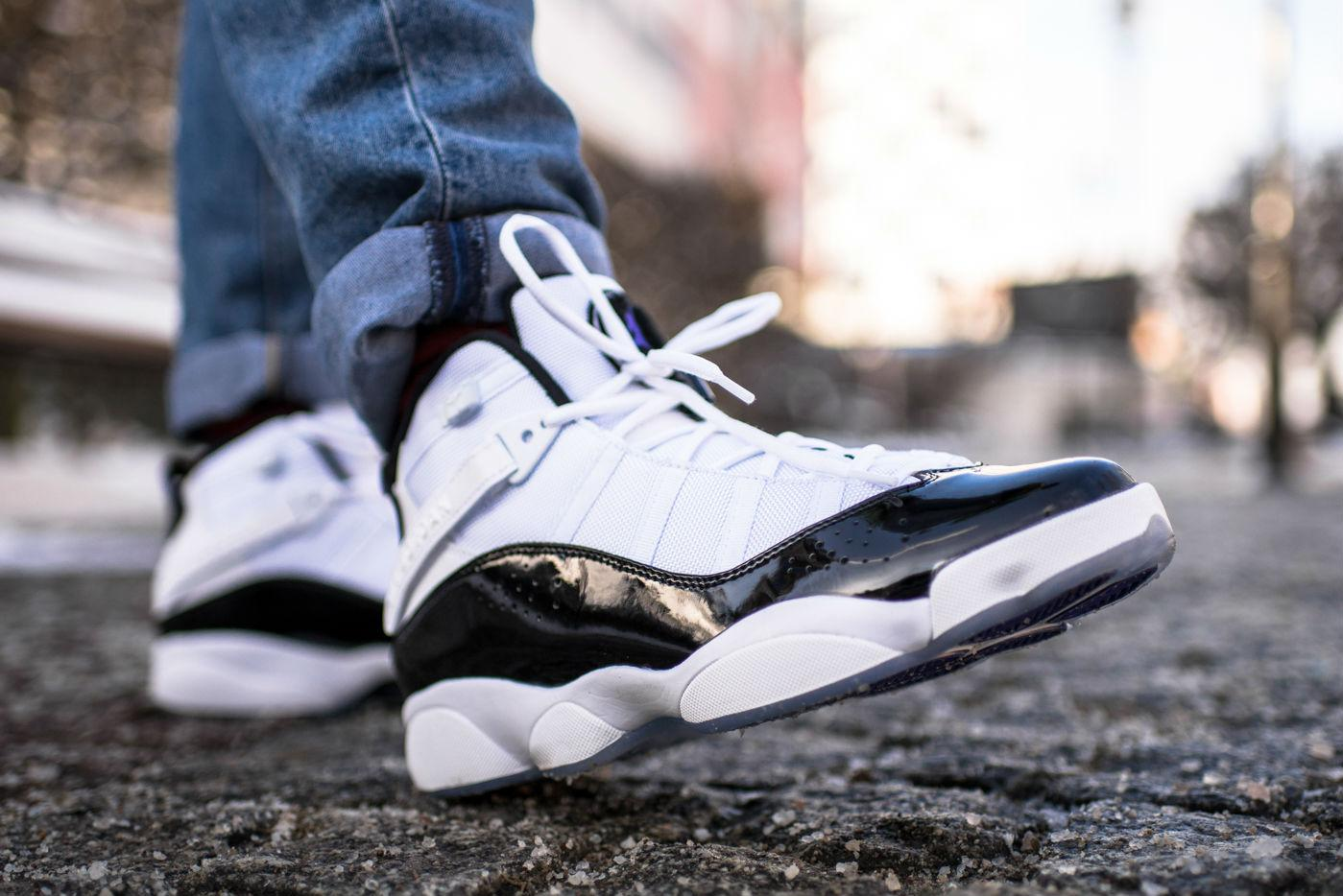 outlet store 8dd97 82cb8 An On-Foot Look at the Jordan 6 Rings 'Concord' - WearTesters