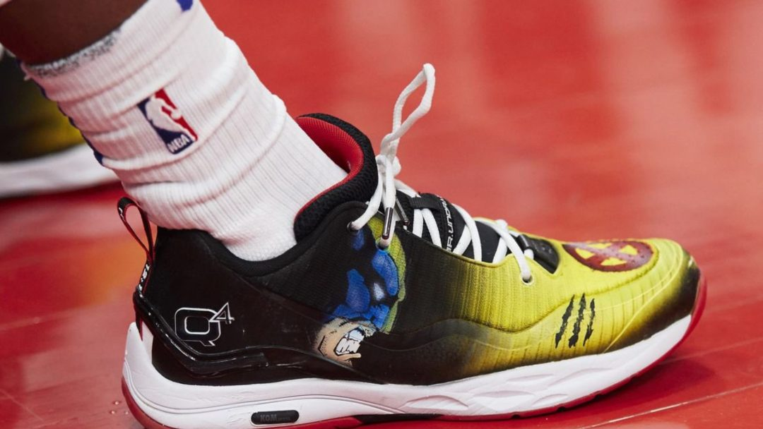 Langston Galloway Rocked a Custom Wolverine Q4 495 Lo PE ...