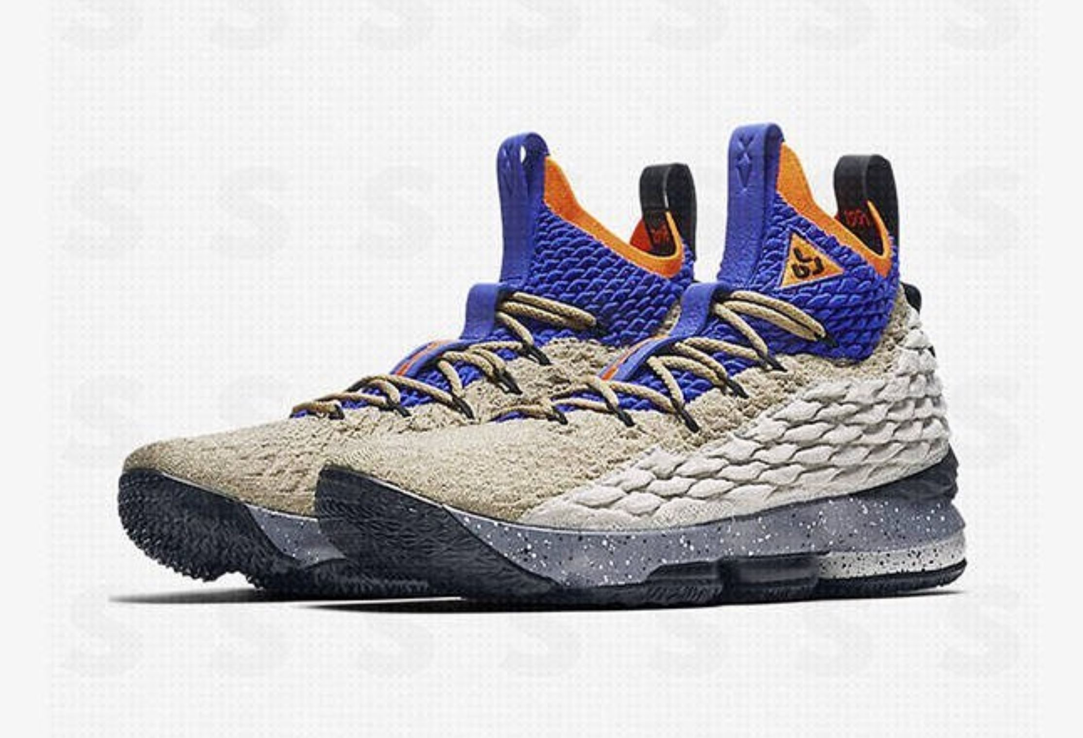 purchase cheap 4a220 f0d54 This LeBron 15 Honors the ACG Air Mowabb with New Colorway ...