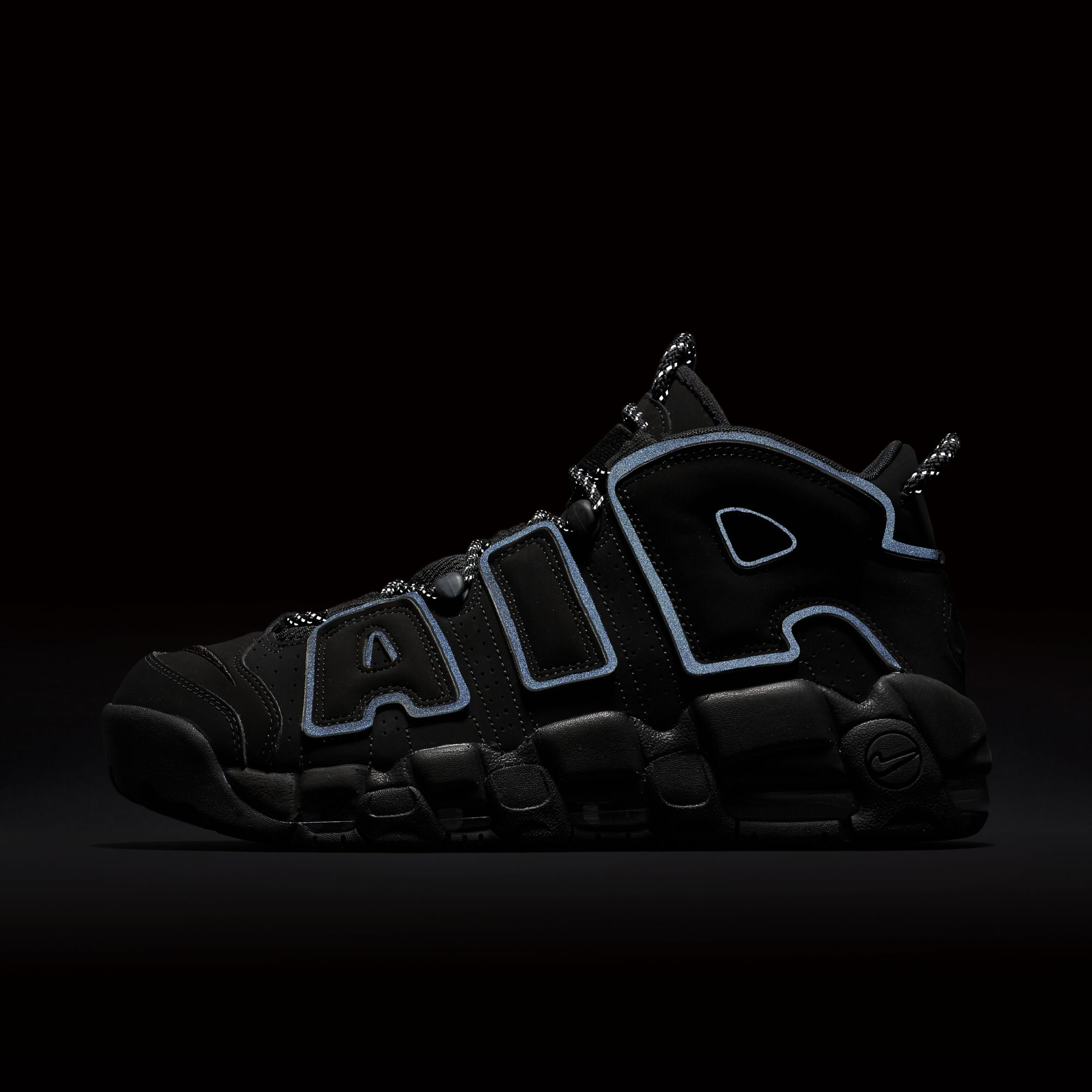 pizarra Inflar Crítico  The Nike Air More Uptempo in Triple Black Will Arrive in March - WearTesters