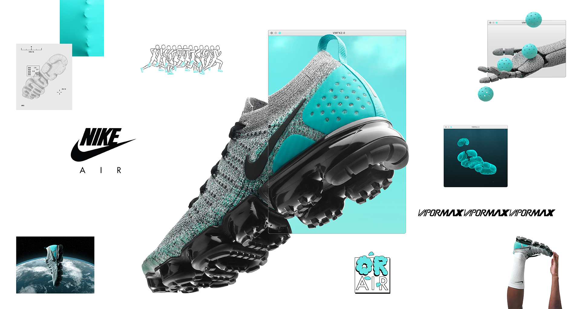 best service a1183 6ad77 The Nike Air VaporMax Flyknit 2 Has Arrived at Eastbay Ahead ...
