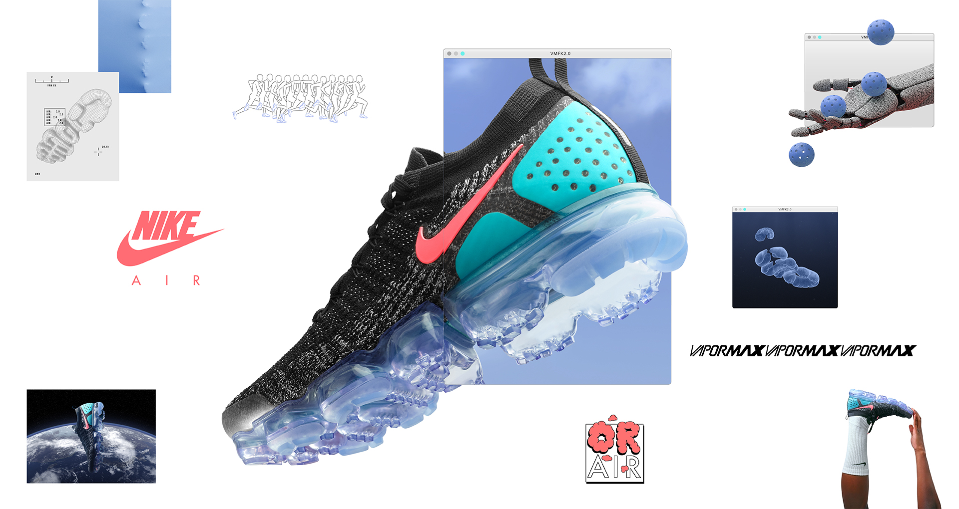 reputable site 5297d 595ed The Nike Air VaporMax Flyknit 2.0 Arrives in March Before ...