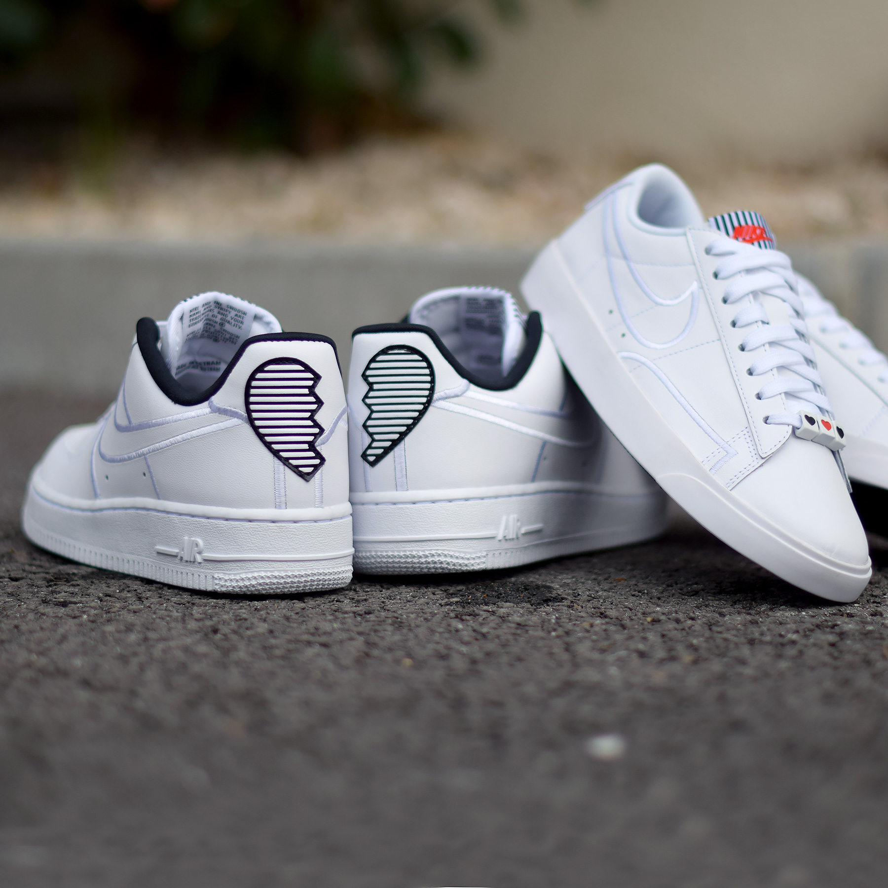 Nike Valentines Pack 2018 Air Force Blazer 5 WearTesters