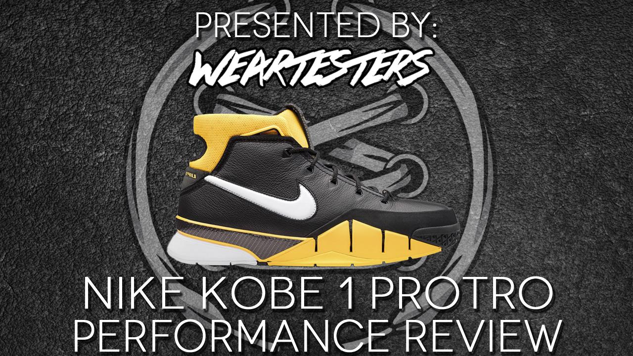 fa6c96f100d Nike Zoom Kobe 1 Protro Performance Review | Duke4005 - WearTesters