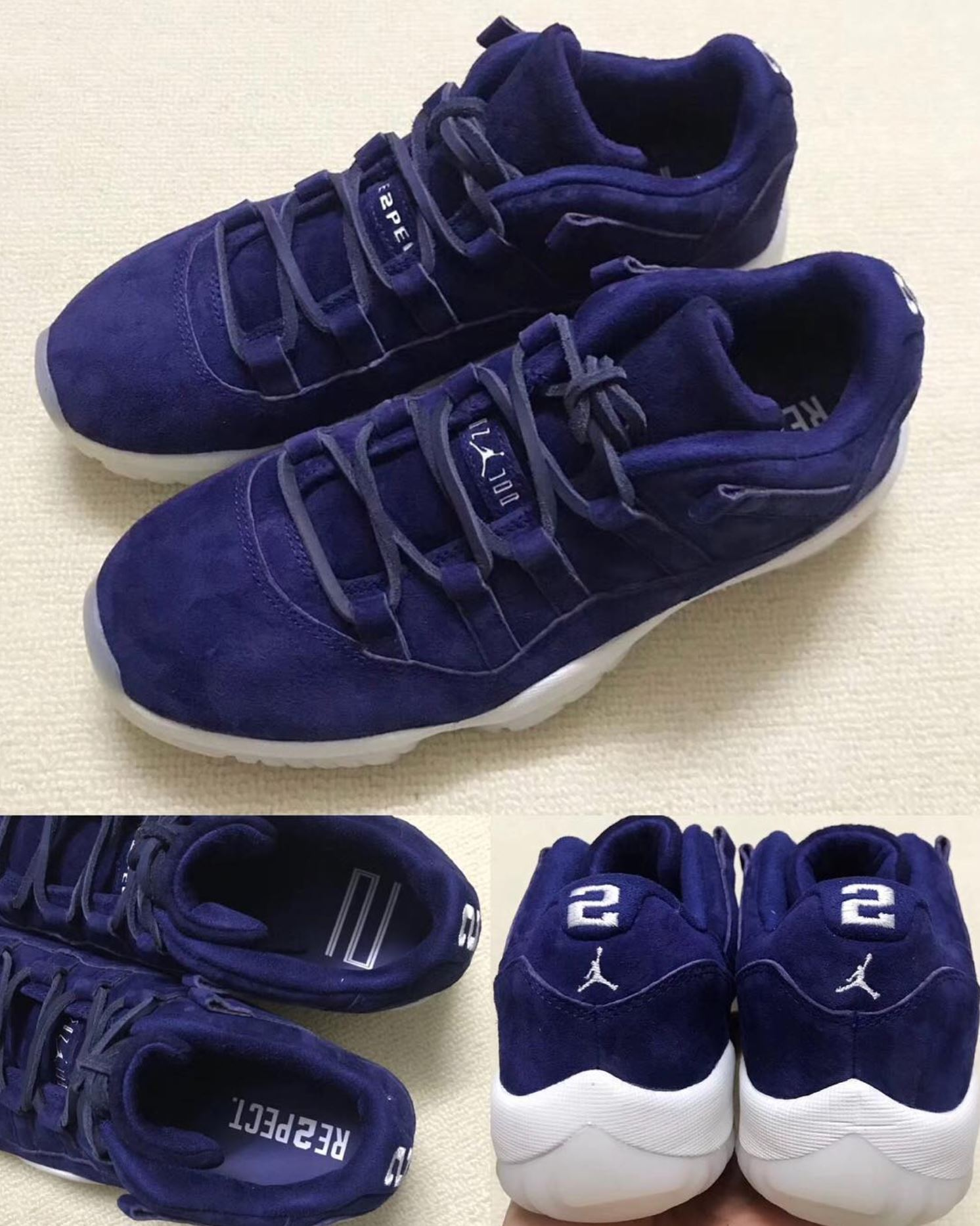 separation shoes 8cd8a f267b Expect the Air Jordan 11 Low 'RE2PECT' to Arrive in April ...