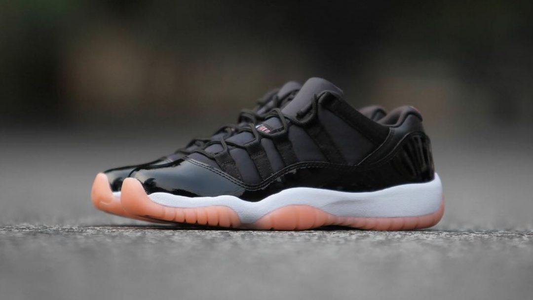 4a2e0d967207 ... air jordan 11 low bleached coral Nike Air Jordan 11 Retro Low (GG) ( Black ...