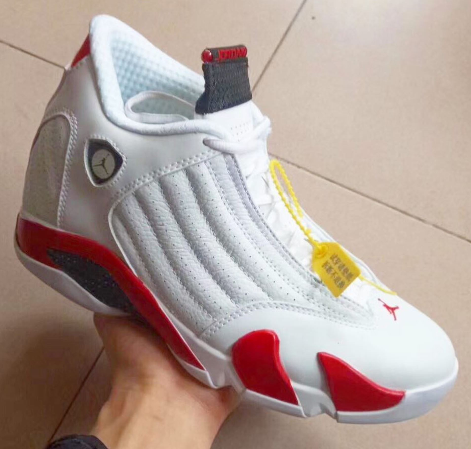 size 40 d5103 dbbe8 The Air Jordan 14 'Candy Cane' Will Be Back for Labor Day ...
