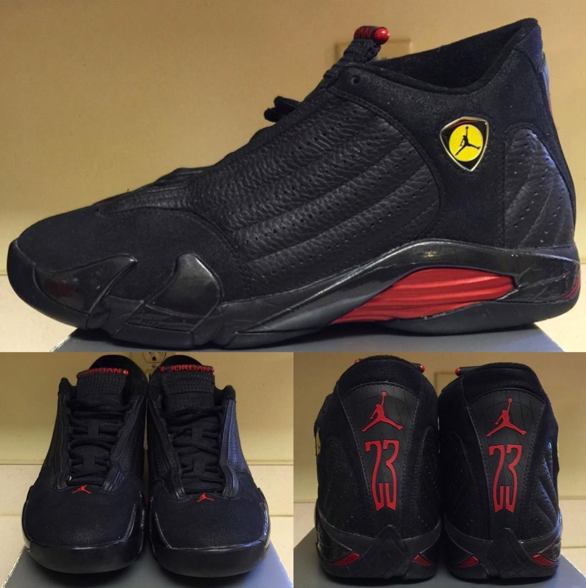 Air Jordan 14 Último Disparo Civil De 2005 MJzlNG