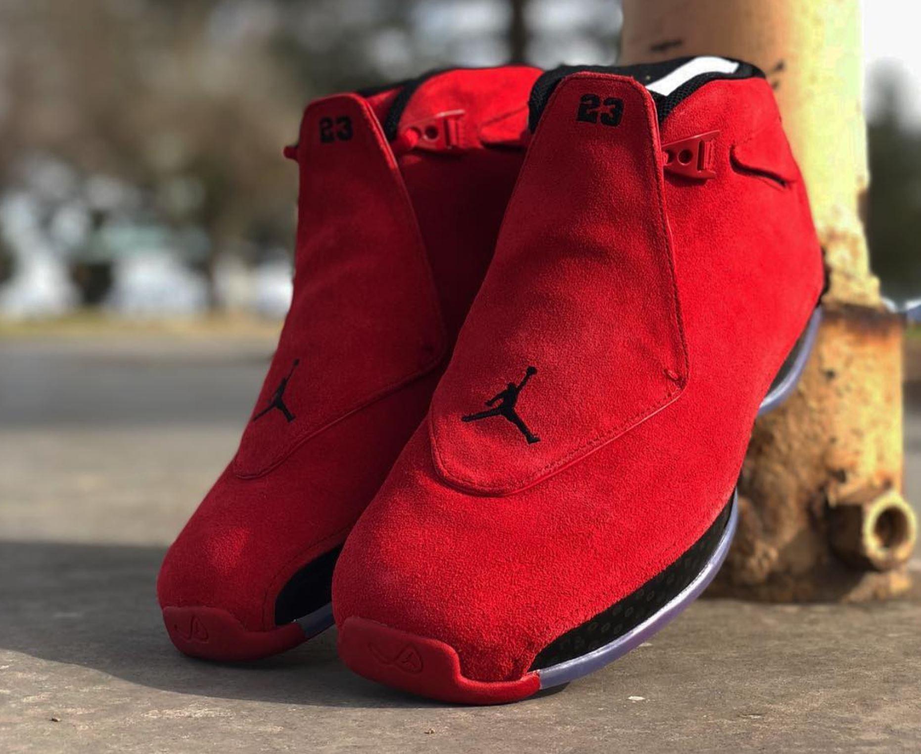 The New Air Jordan 18 'Toro' Will Heat