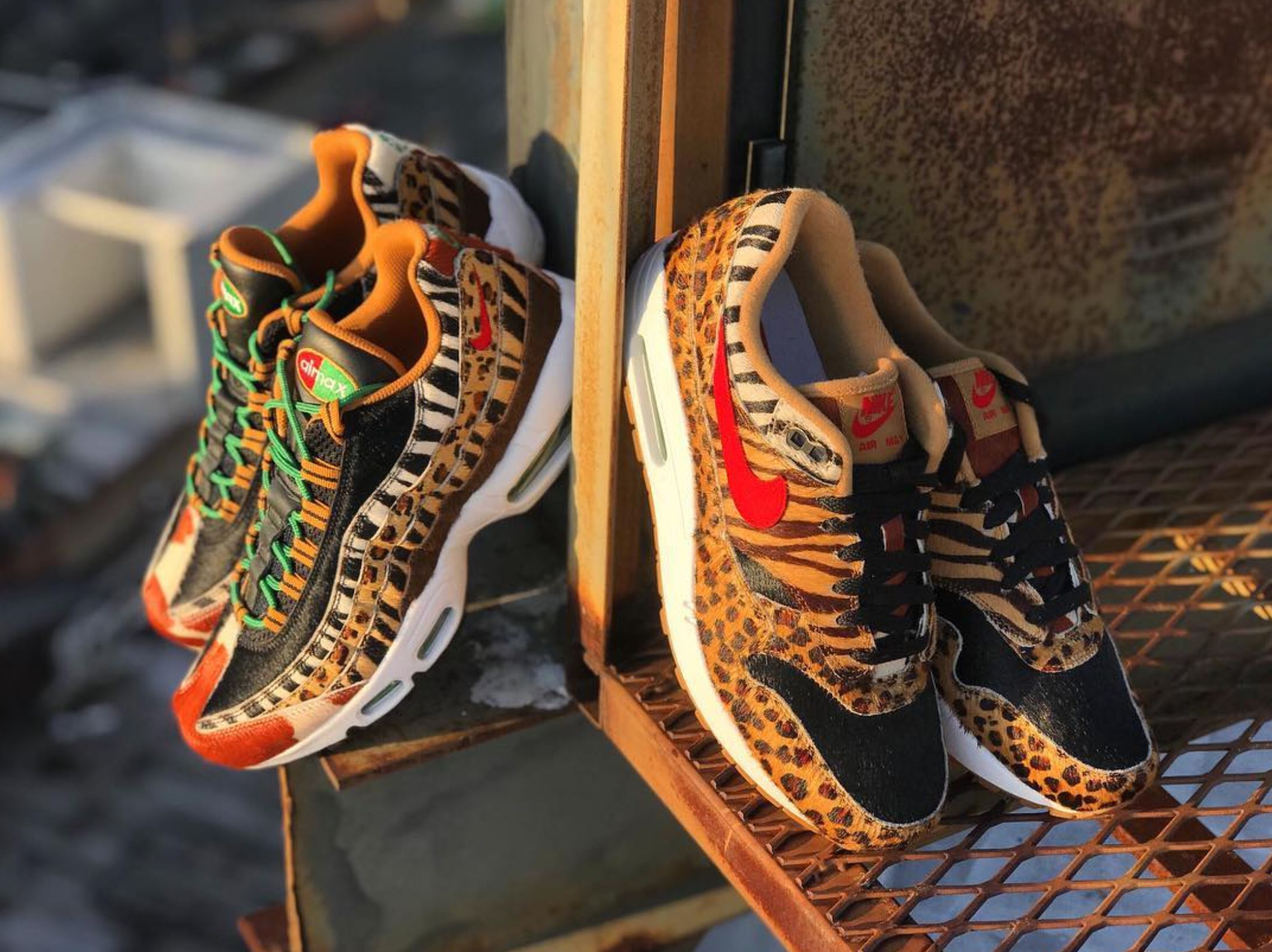 best loved bb5d3 3e48e The Nike Air atmos Animal Pack 2.0 Releases Tomorrow in New ...