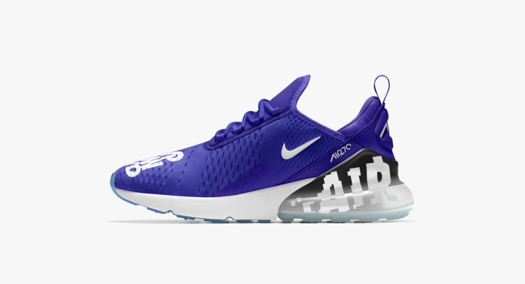 732ecbe60570 The Nike Air Max 270 Has Hit NikeiD for Customization - WearTesters