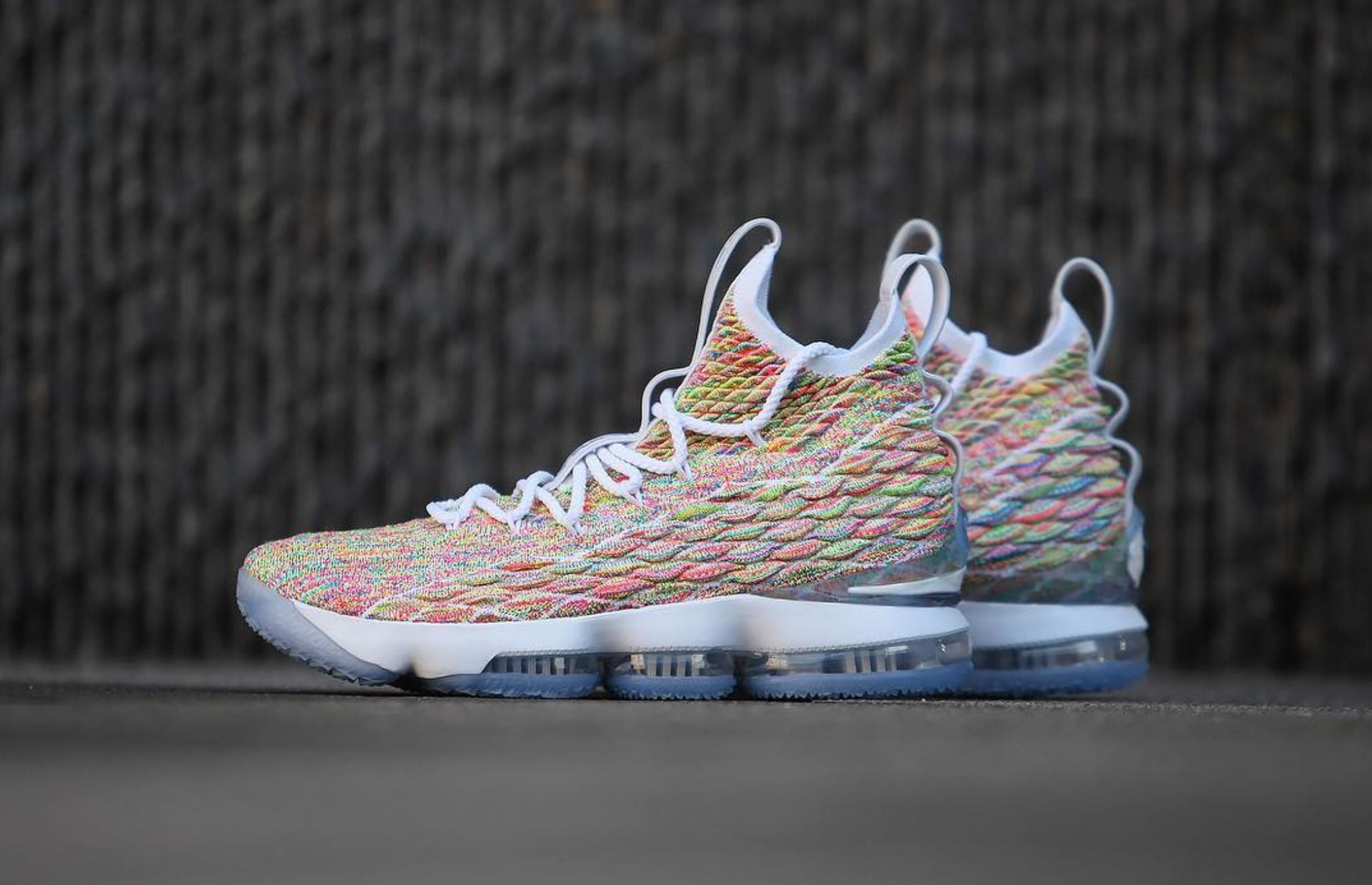8c853afe9f3 Here's a Detailed Look at the Nike LeBron 15 'Fruity Pebbles ...