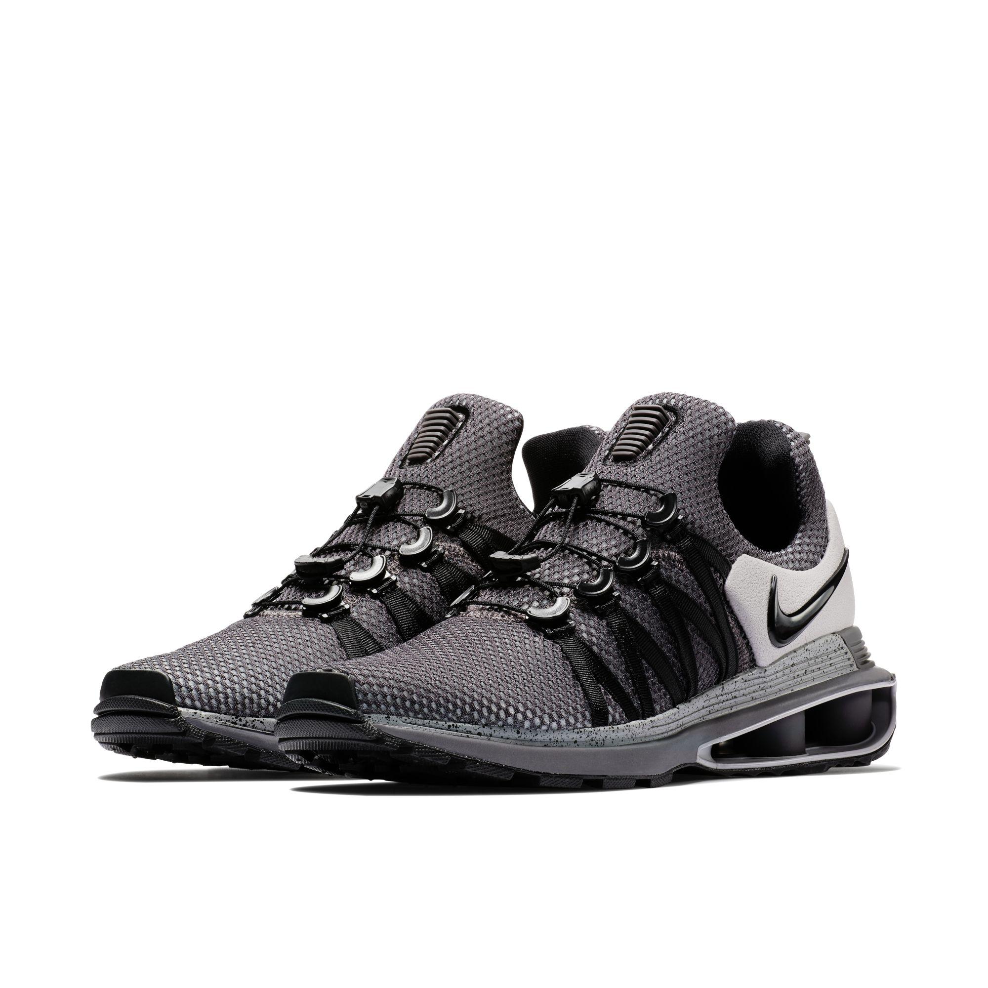 Nike Shox Black And Grey