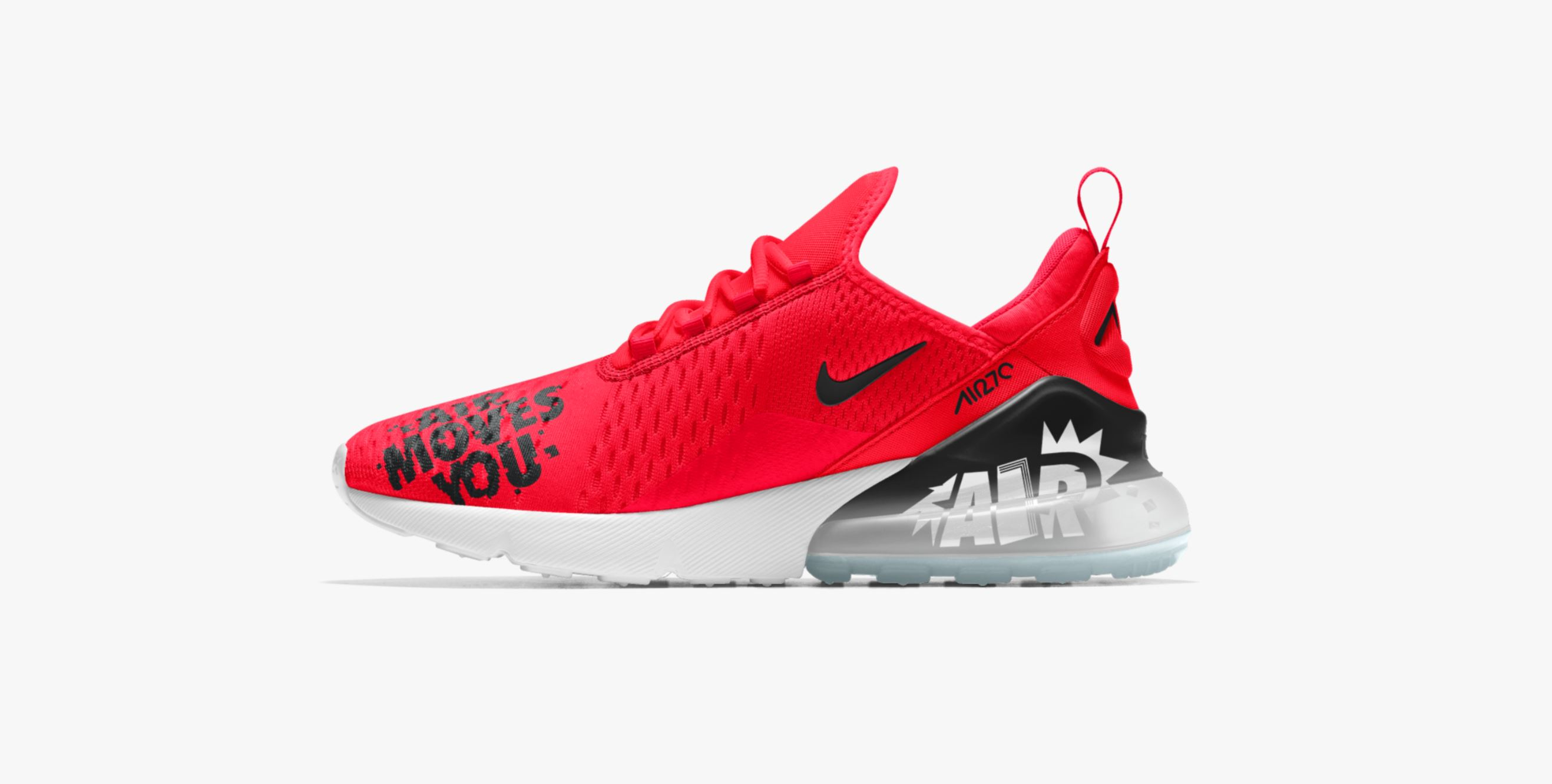 the nike air max 270 has hit nikeid for customization weartesters. Black Bedroom Furniture Sets. Home Design Ideas