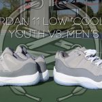 Air Jordan 11 Low 'Cool Grey' Review | Youth vs Men's