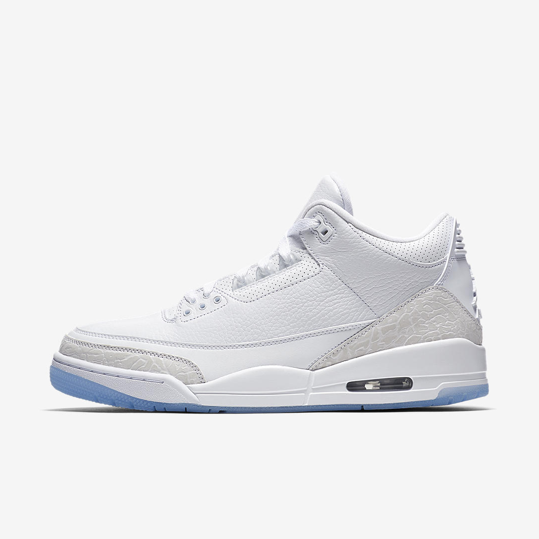 huge selection of d3e46 ad03a An Official Look at the Air Jordan 3 'Pure White' - WearTesters