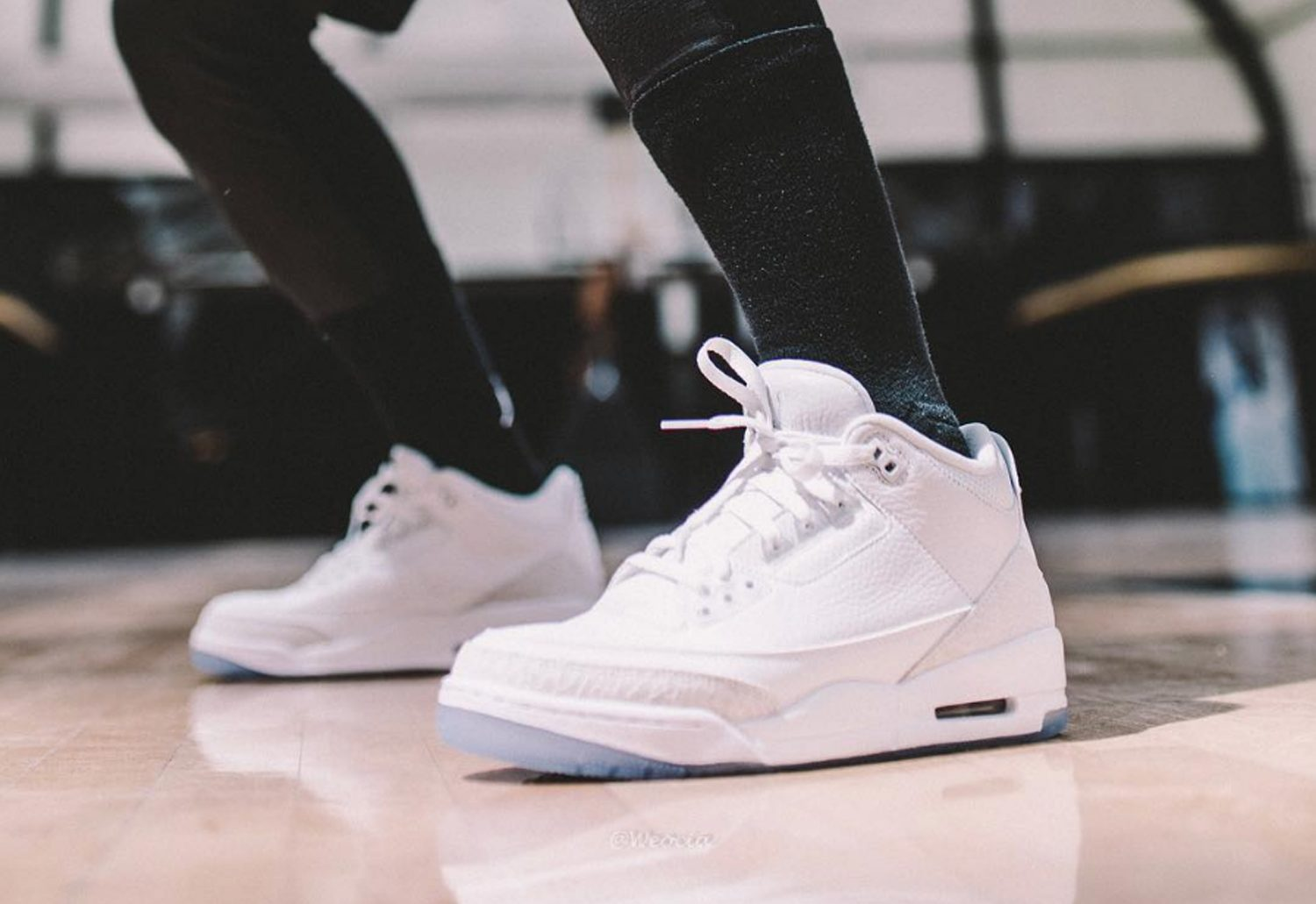 best sneakers a3425 12984 Another Look at the Upcoming Air Jordan 3 'Pure White ...