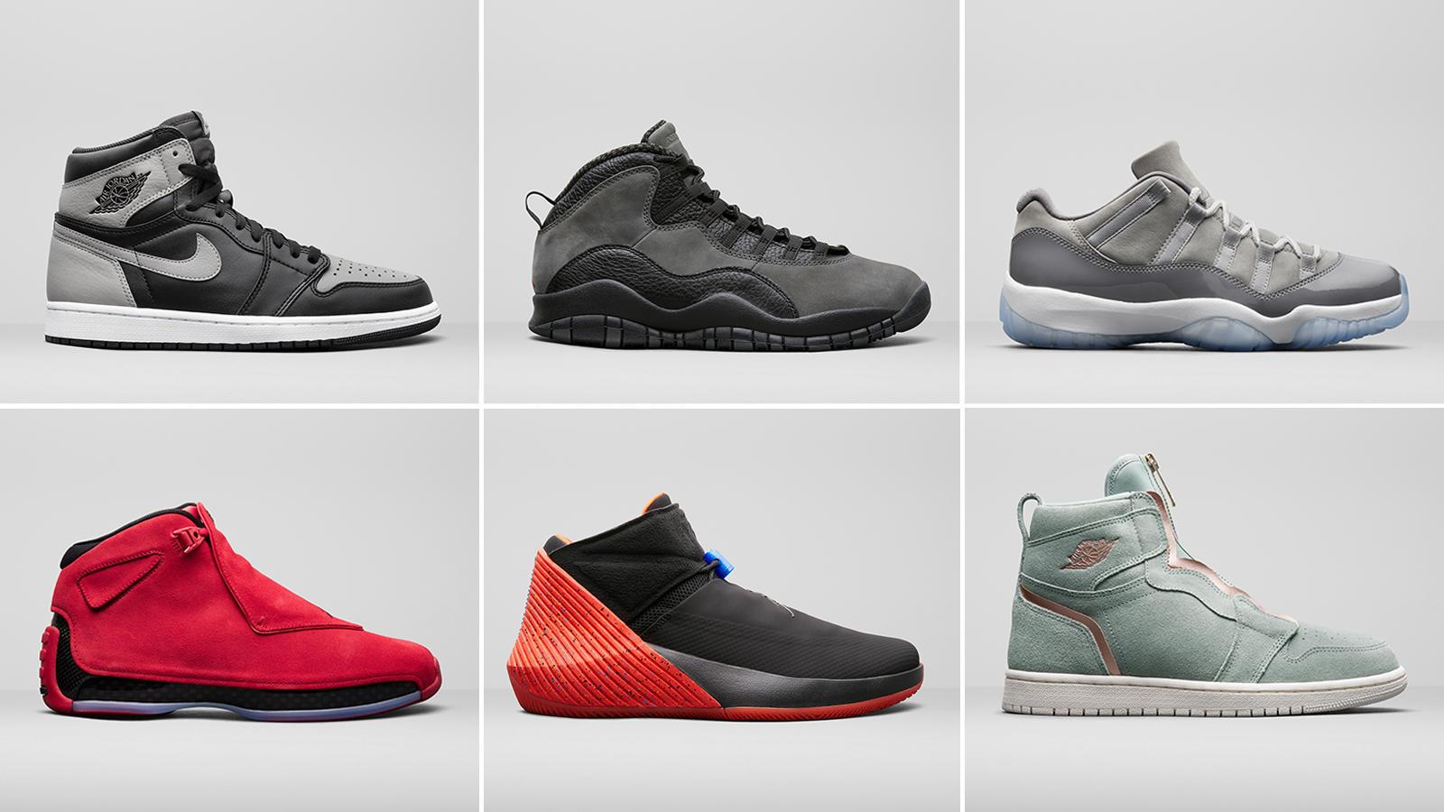 Jordan Brand Unveils Summer 2018