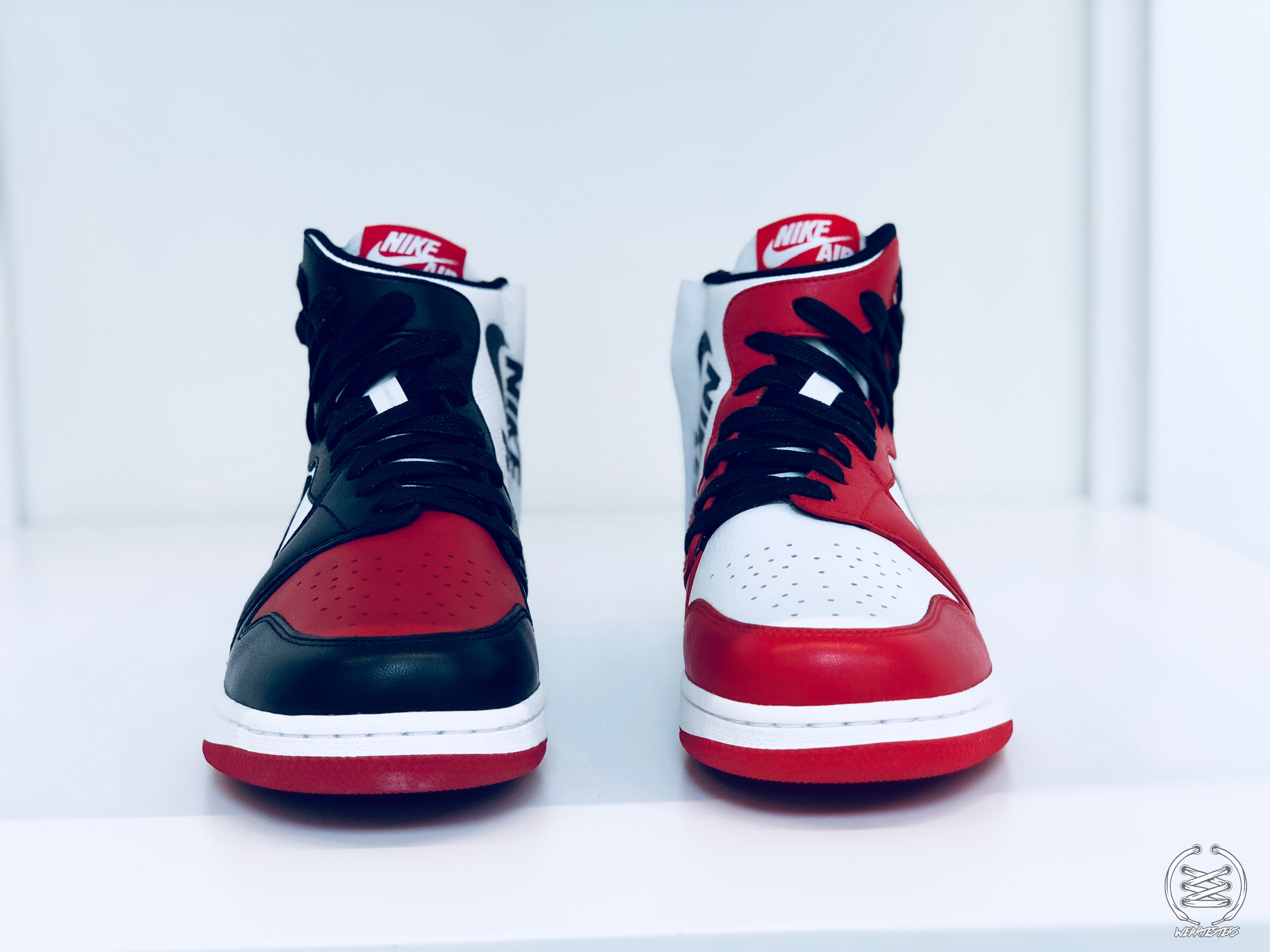 new concept c17cf 9897b The Women's Reimagined Air Jordan 1 Rebel Set for 'Top 3 ...