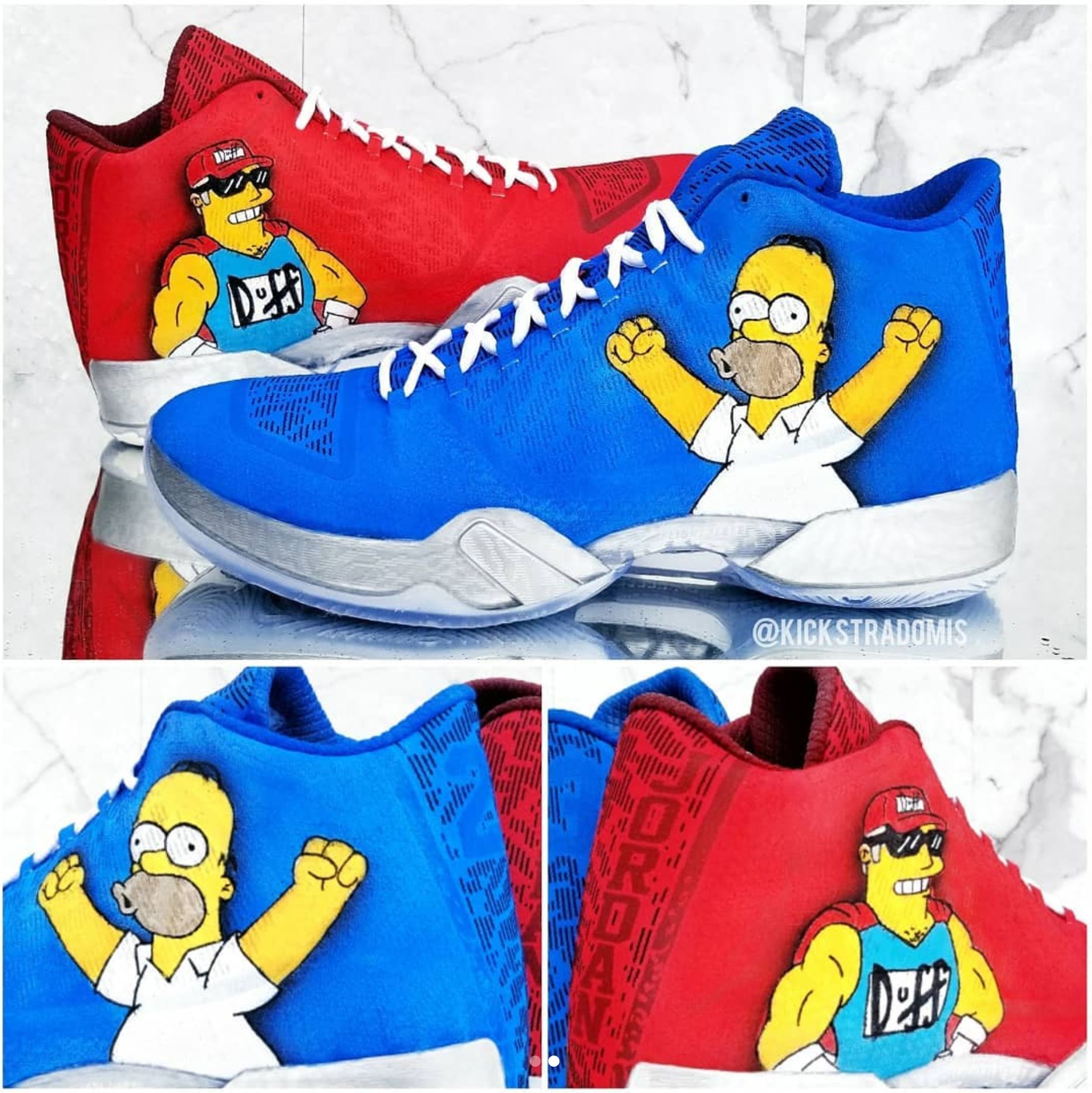 The Simpsons Nike Shoes