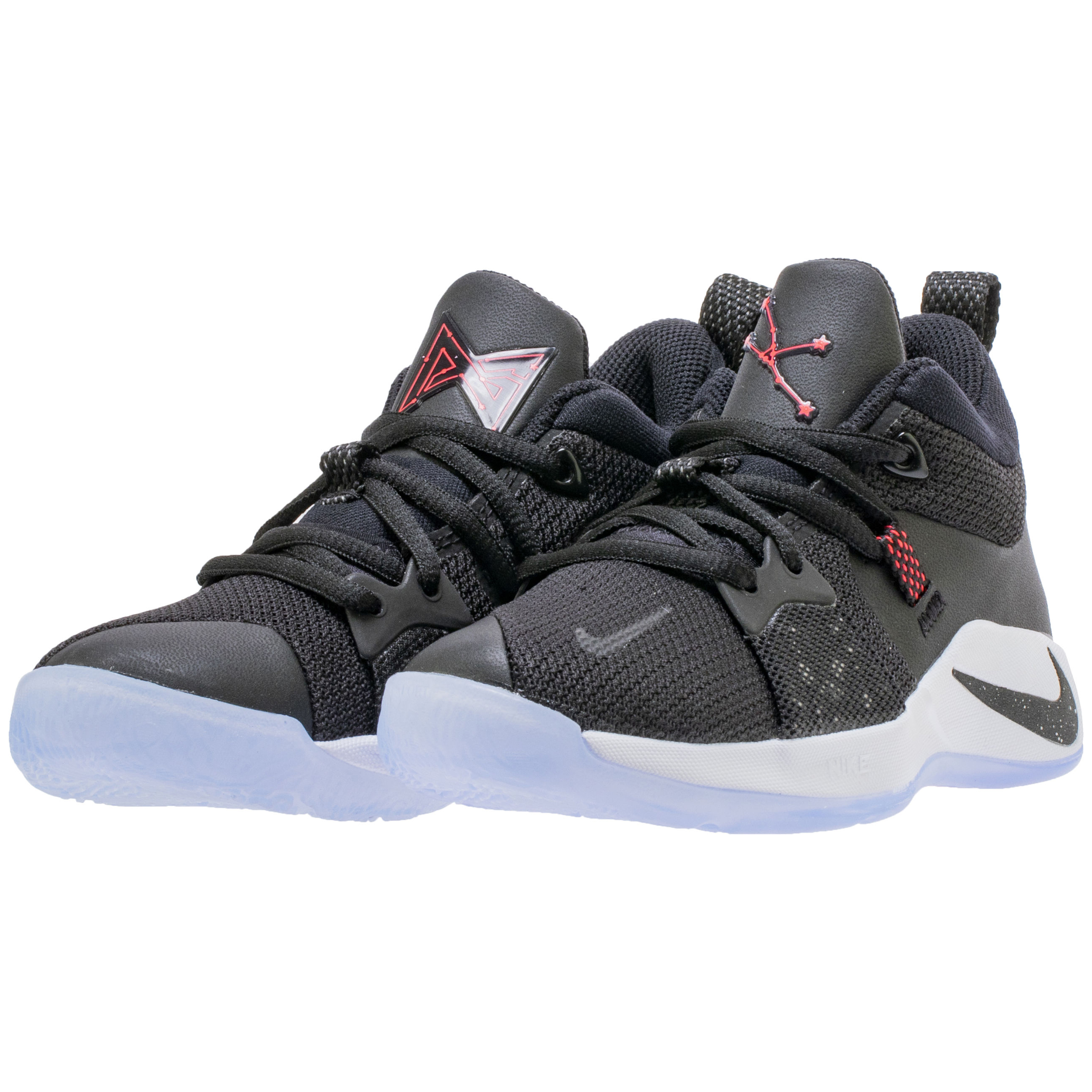 new concept e6460 1dac3 A New Nike PG 2 'Black/White/Red' with Leather is Coming for ...