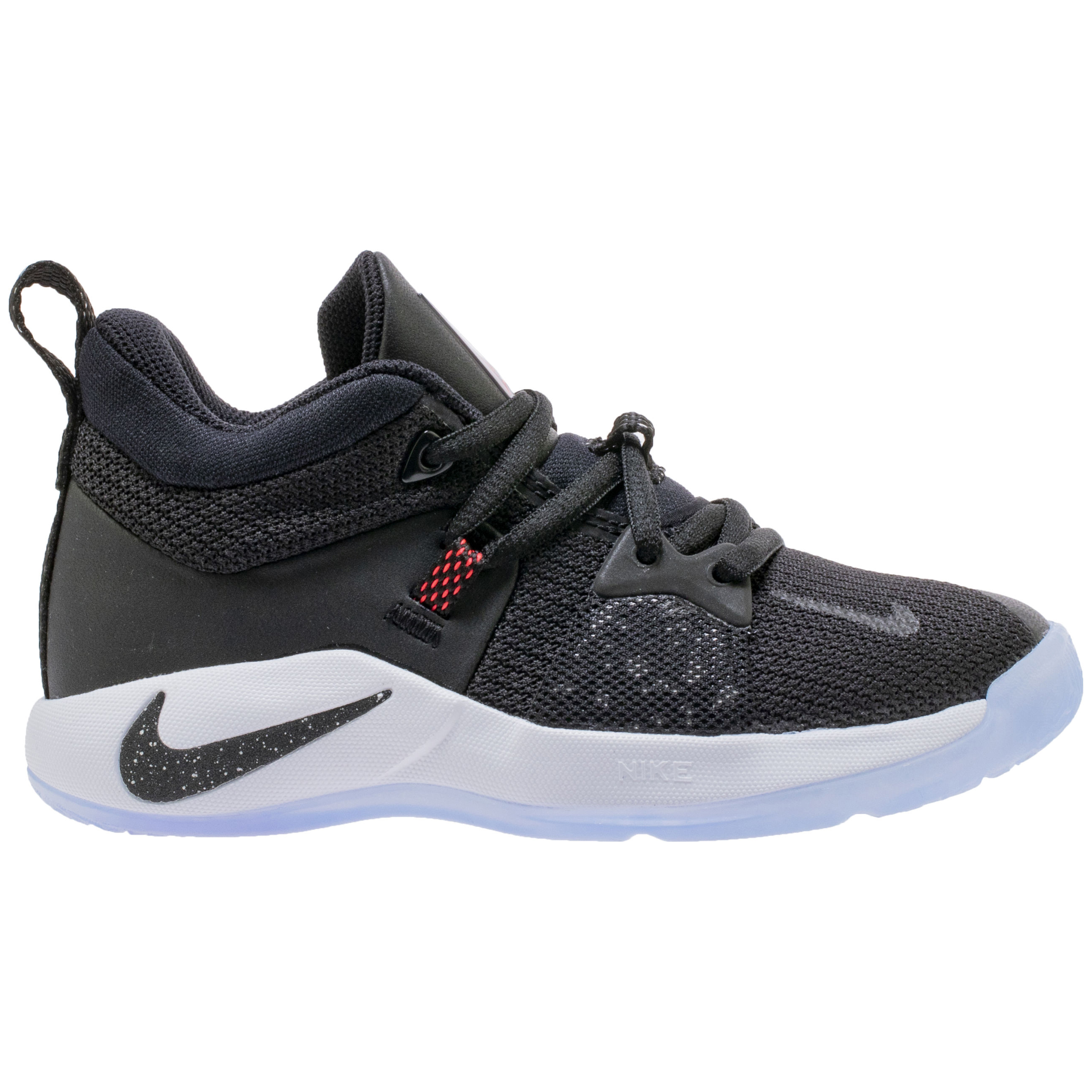 new concept 023b4 48ab0 A New Nike PG 2 'Black/White/Red' with Leather is Coming for ...