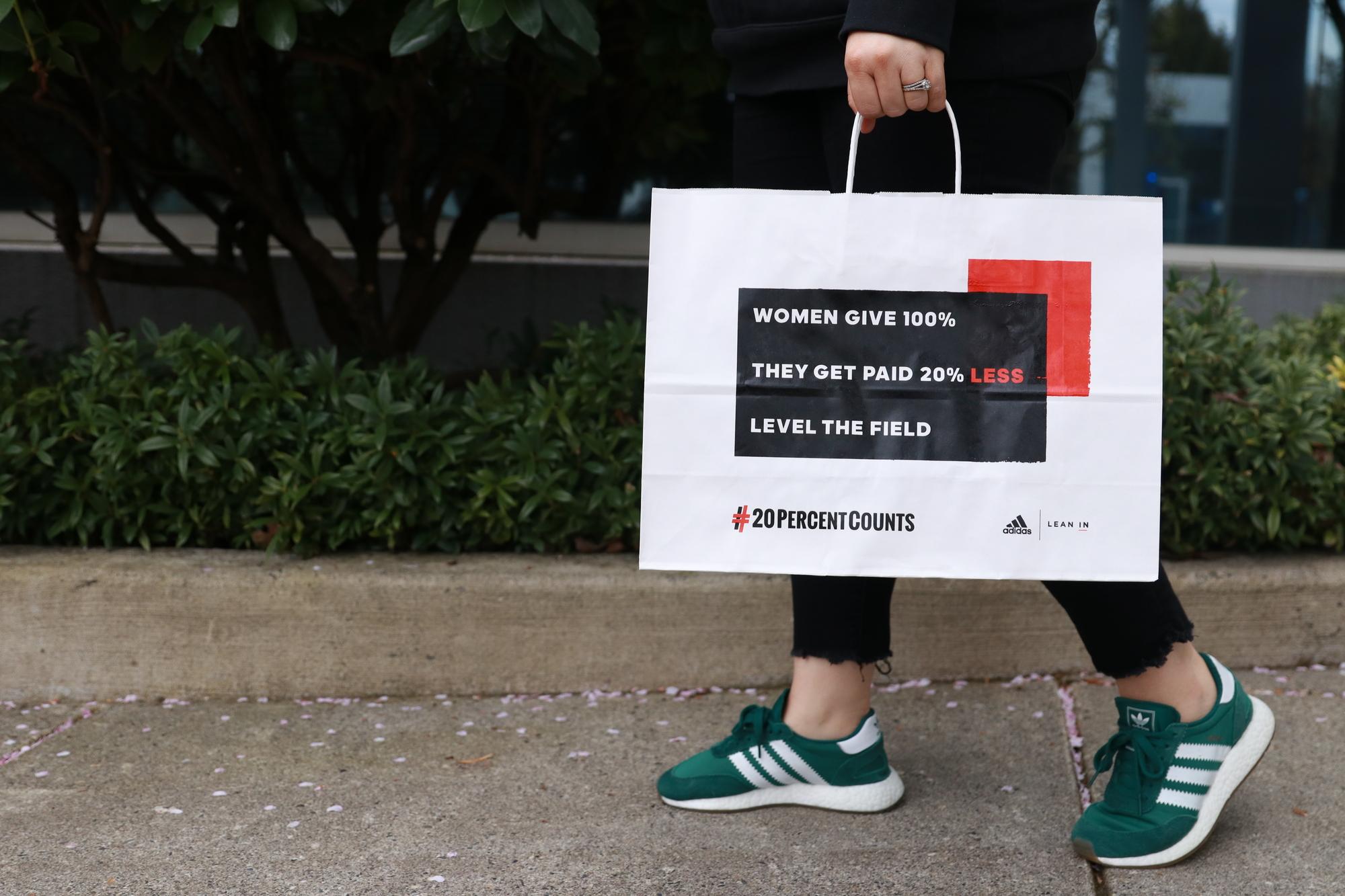 adidas reebok equal pay day