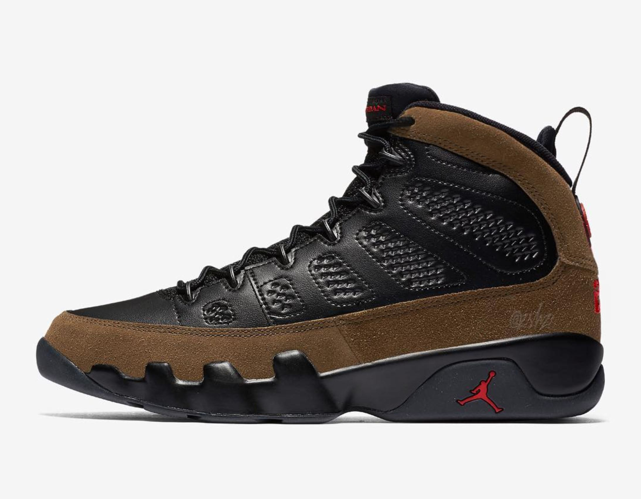 best loved ce066 779fd Expect the Air Jordan 9 'Olive' to Return in December ...