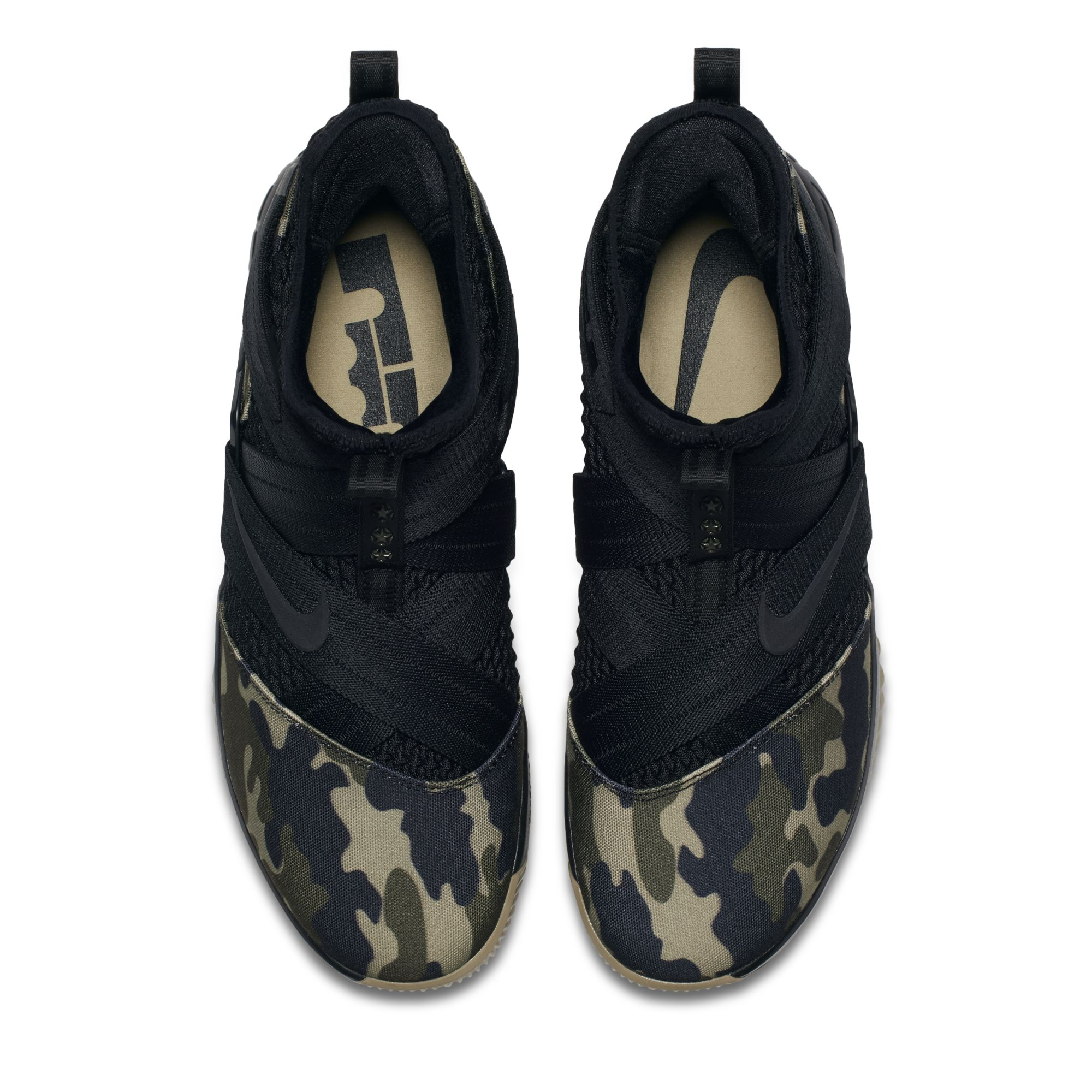 new style 13d28 89885 The Nike LeBron Soldier 12 'Camo' Is Now Available at ...