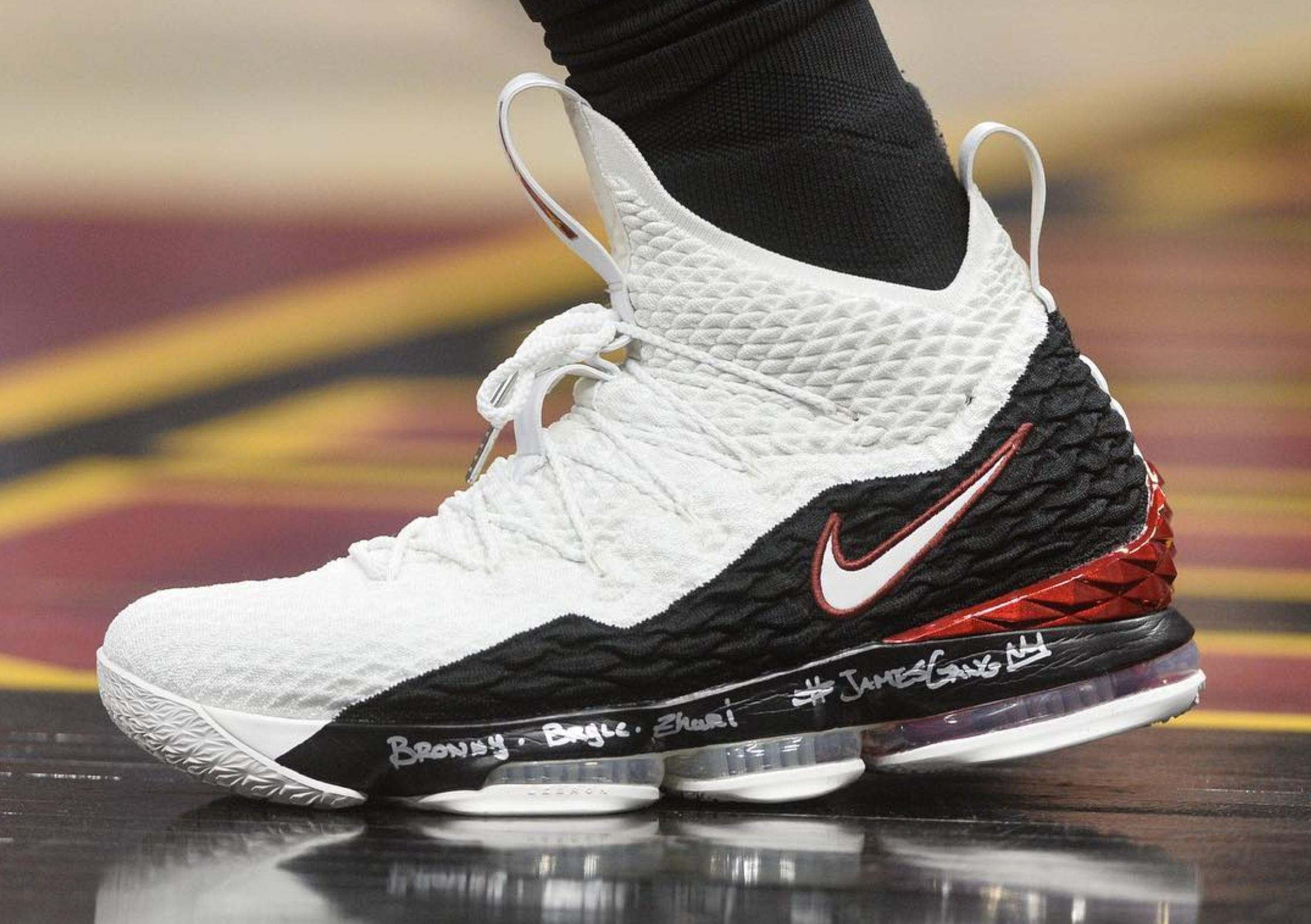 LeBron James Rocked the Nike LeBron 15 'Air Zoom Generation