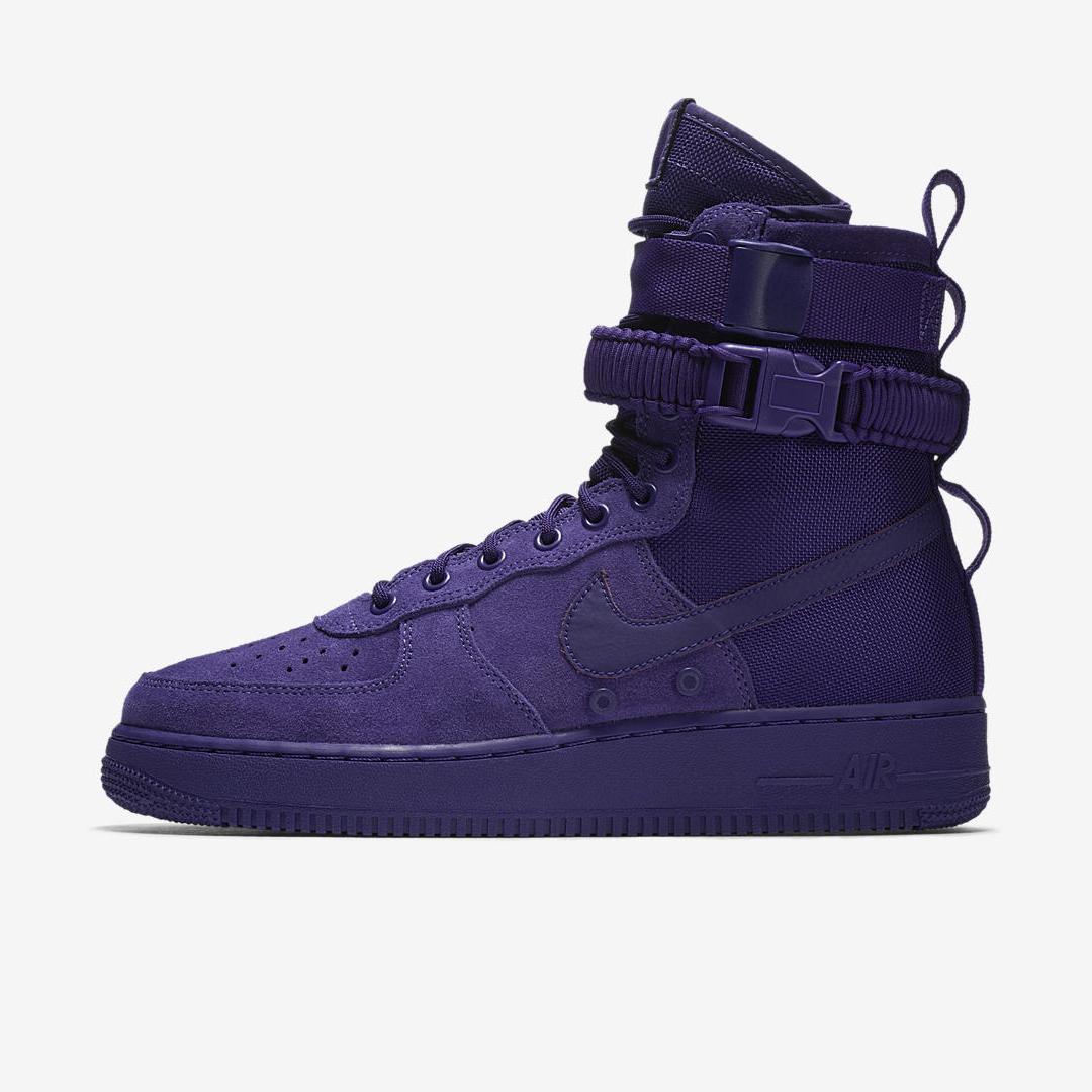 nike SF AF1 court purple 1